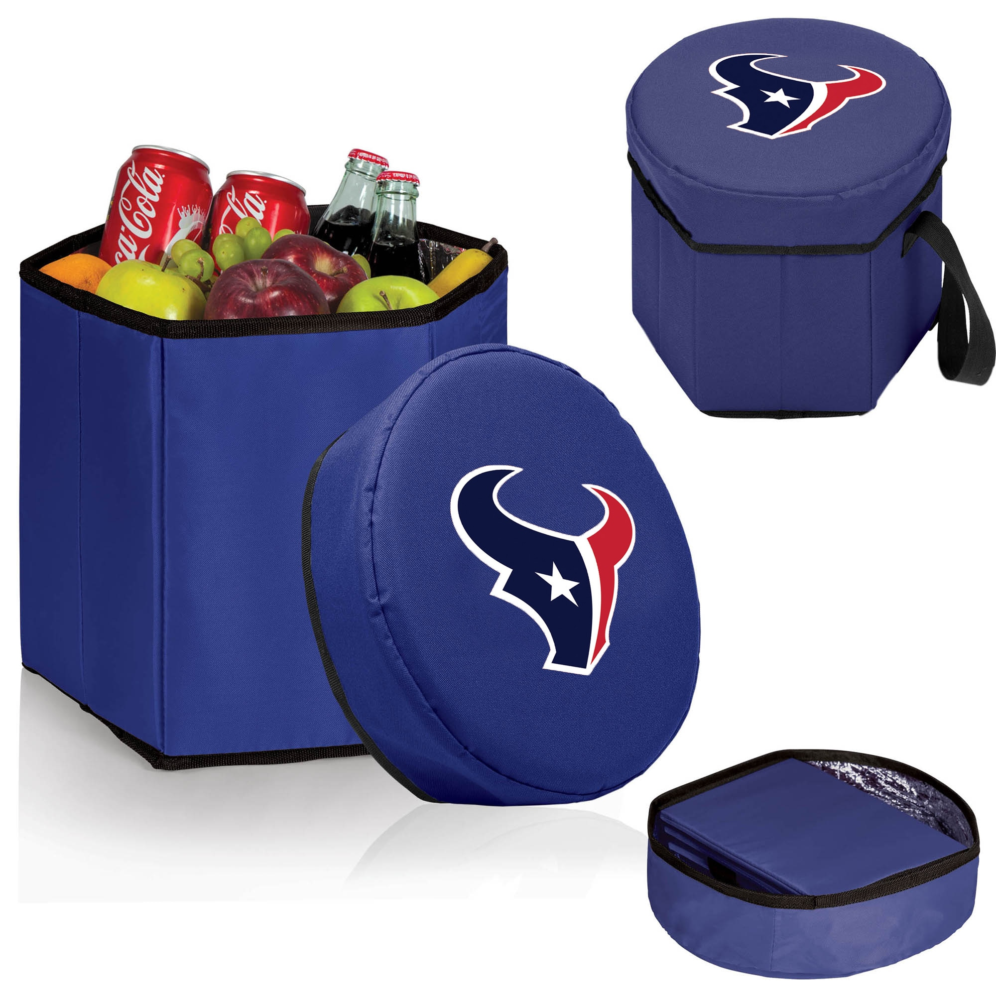 Houston Texans 12 Quart Bongo Cooler - Navy