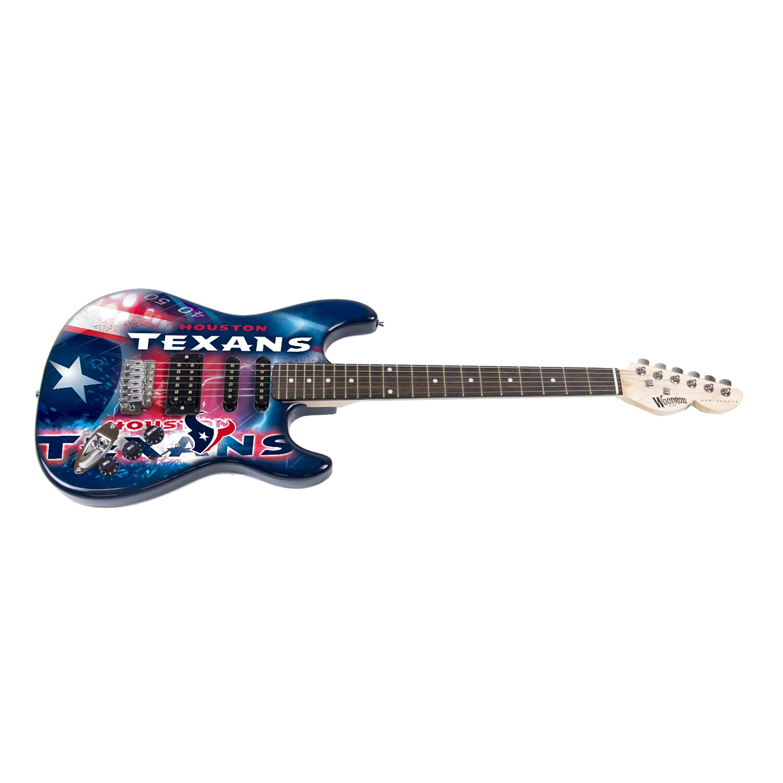 Houston Texans Woodrow Guitar NorthEnder Guitar
