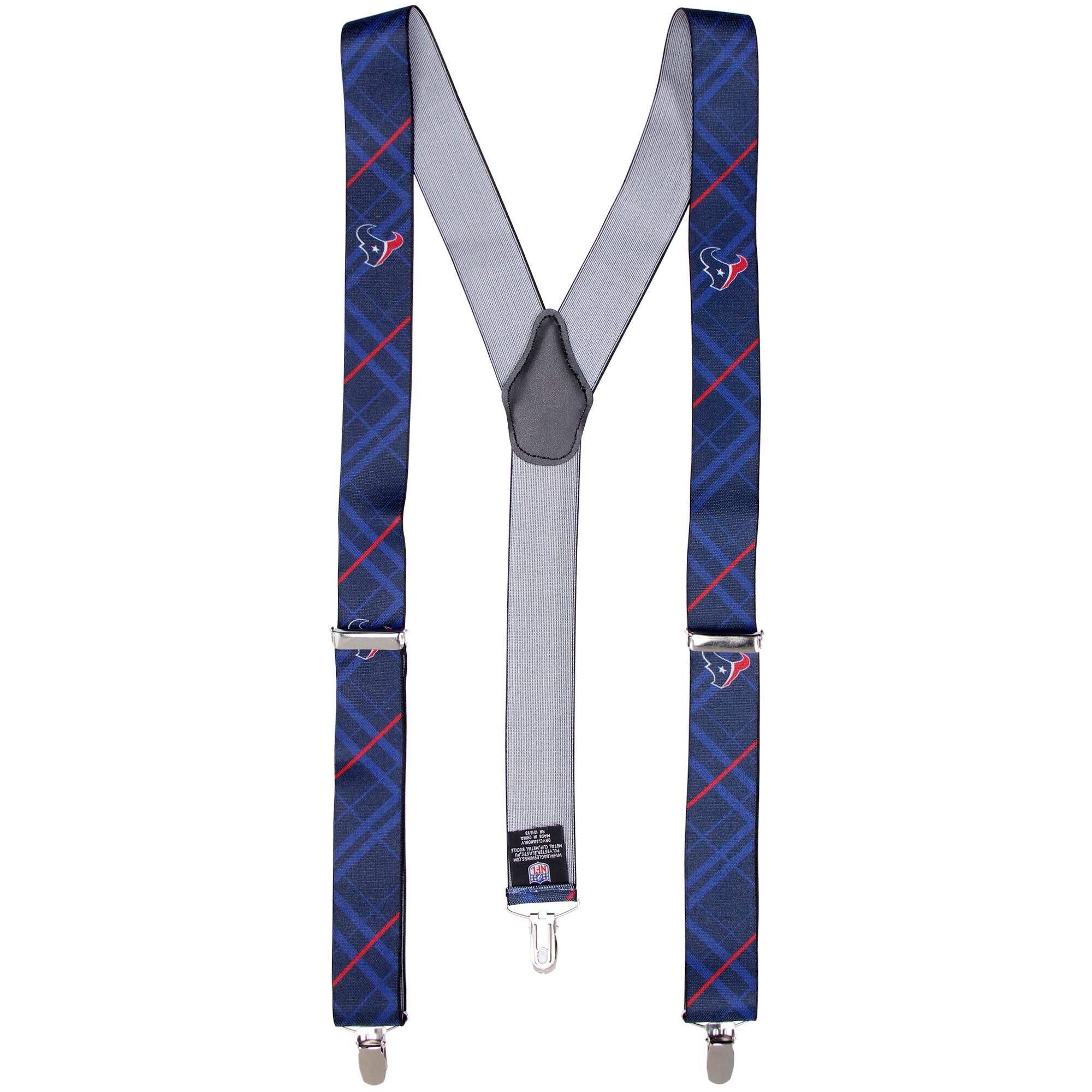 Houston Texans Suspenders - Blue