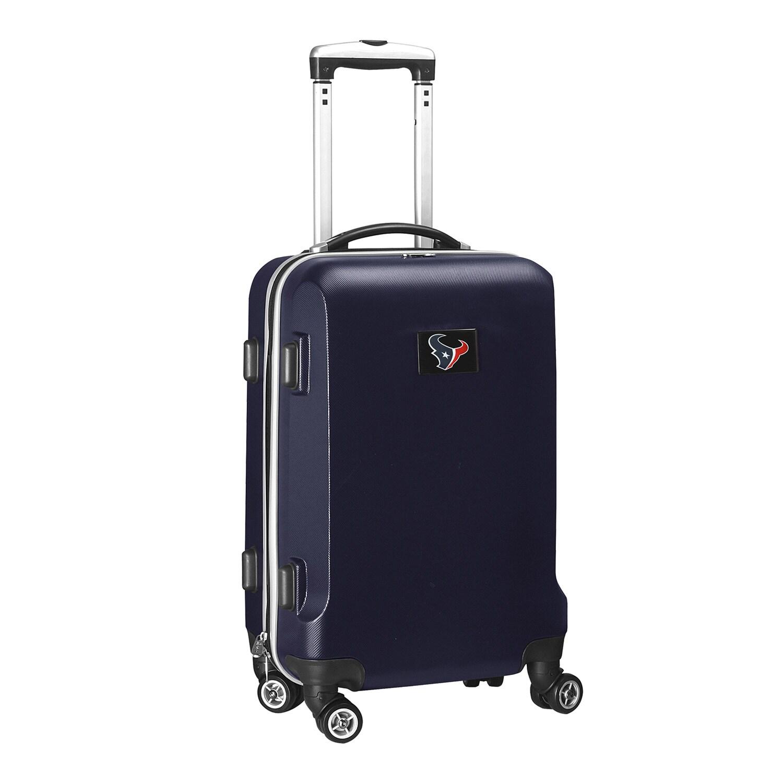 "Houston Texans 21"" 8-Wheel Hardcase Spinner Carry-On - Navy"