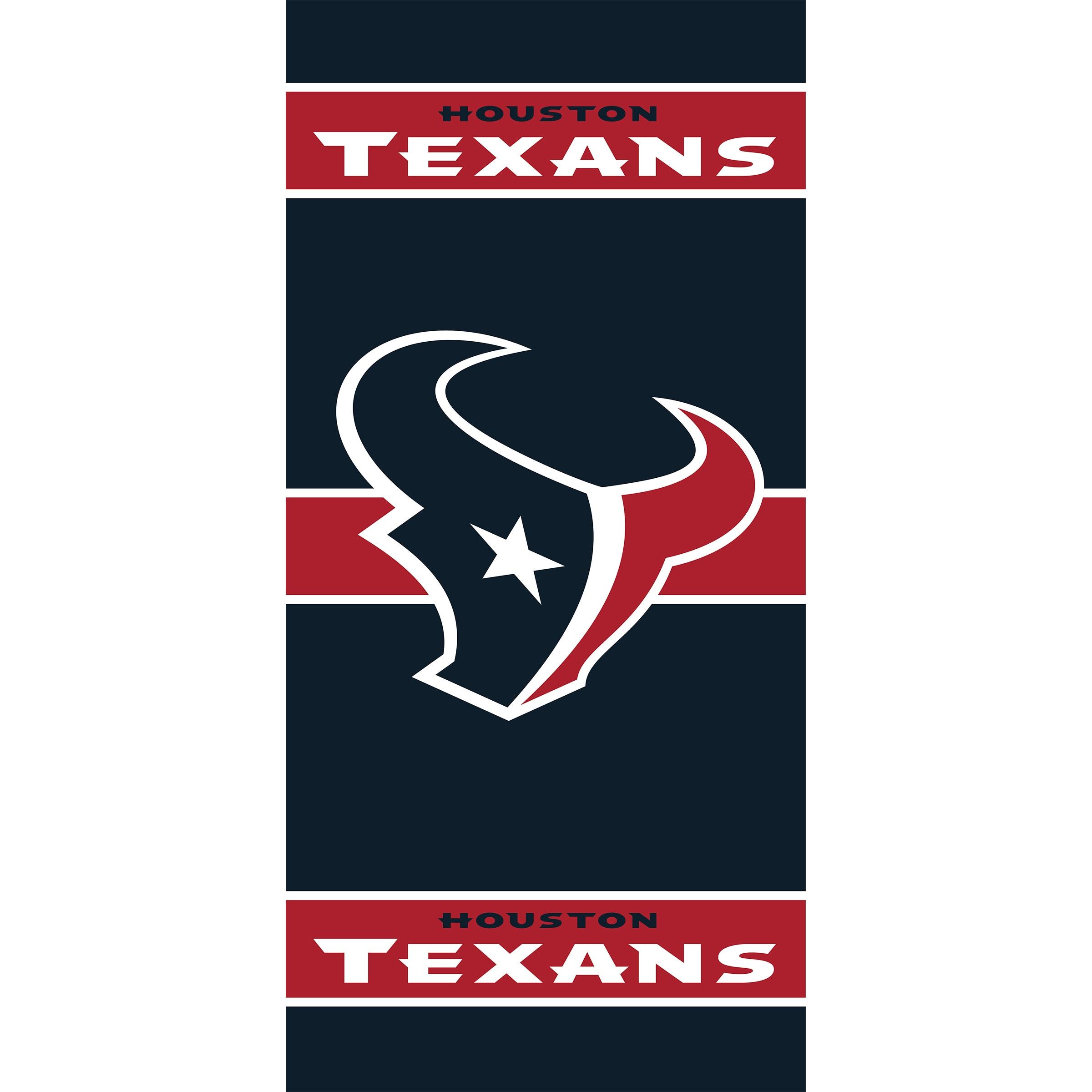 Houston Texans Imperial 36'' x 80'' Front Door Cover
