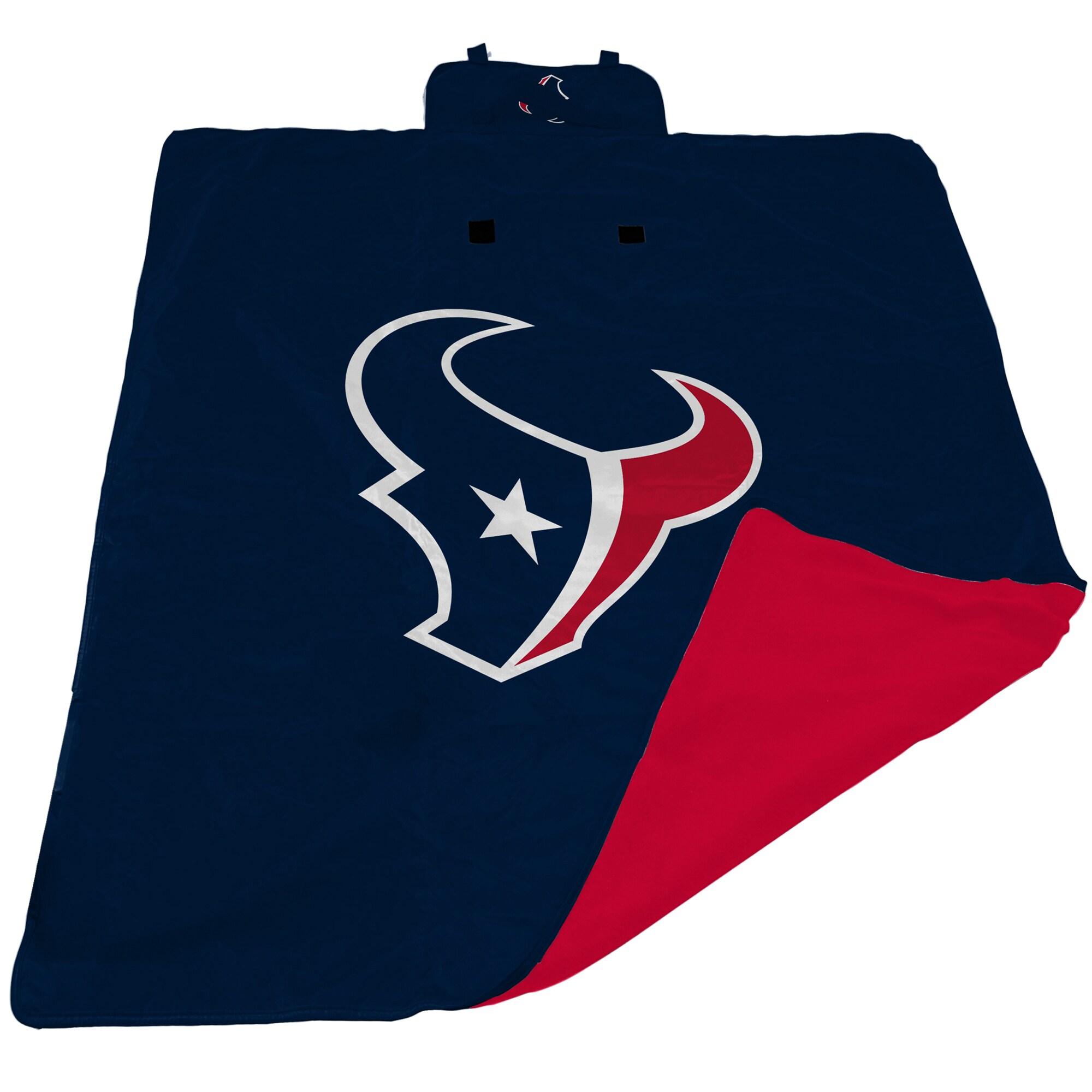 Houston Texans 60'' x 80'' All-Weather XL Outdoor Blanket - Navy