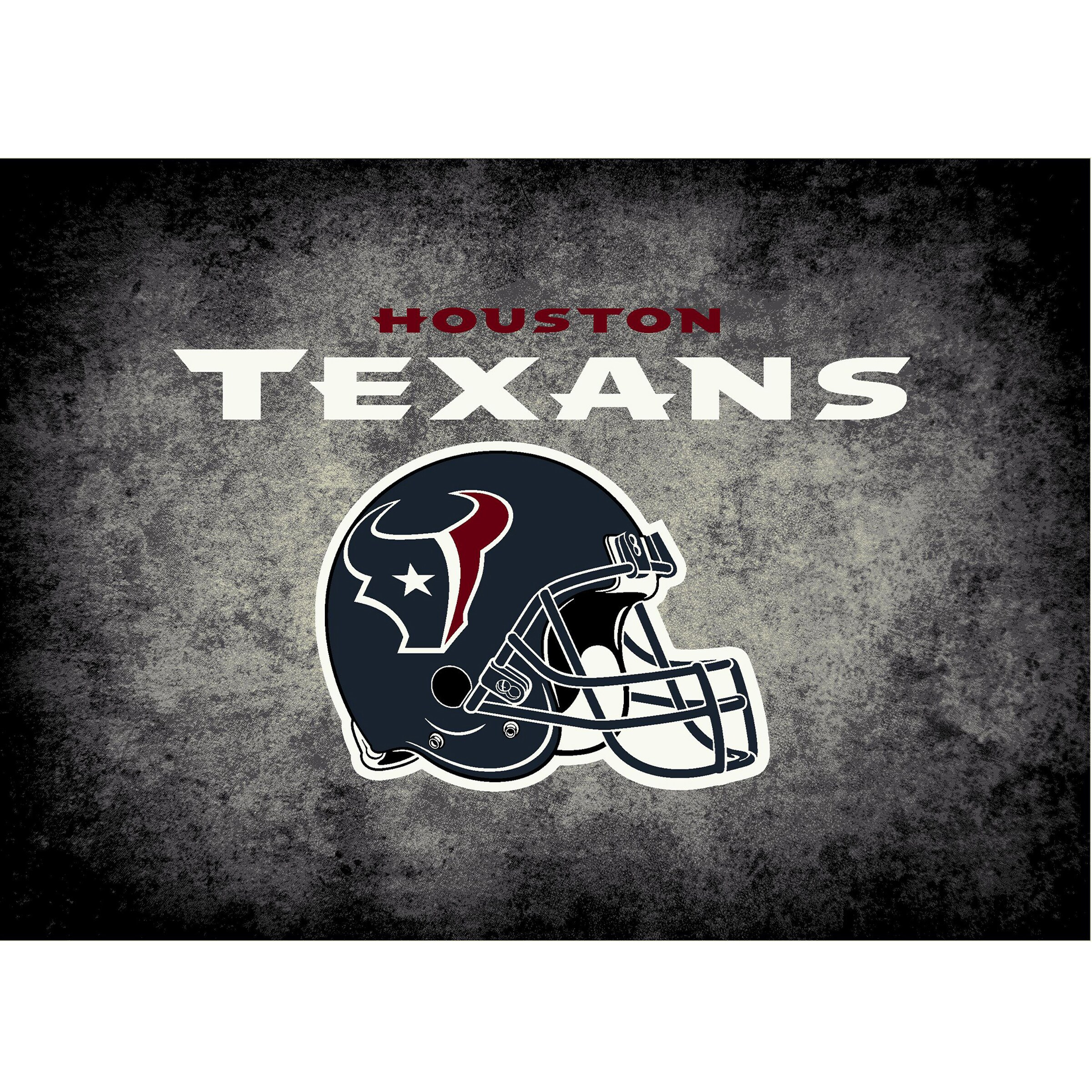 Houston Texans Imperial 6' x 8' Distressed Rug