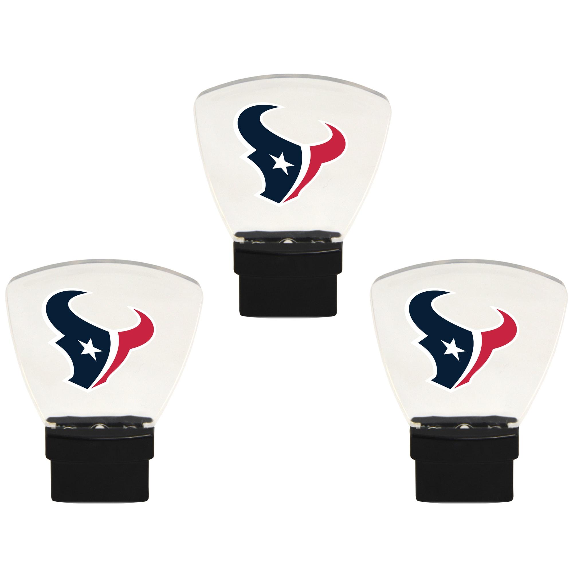 Houston Texans 3-Pack Nightlight Bundle - Red