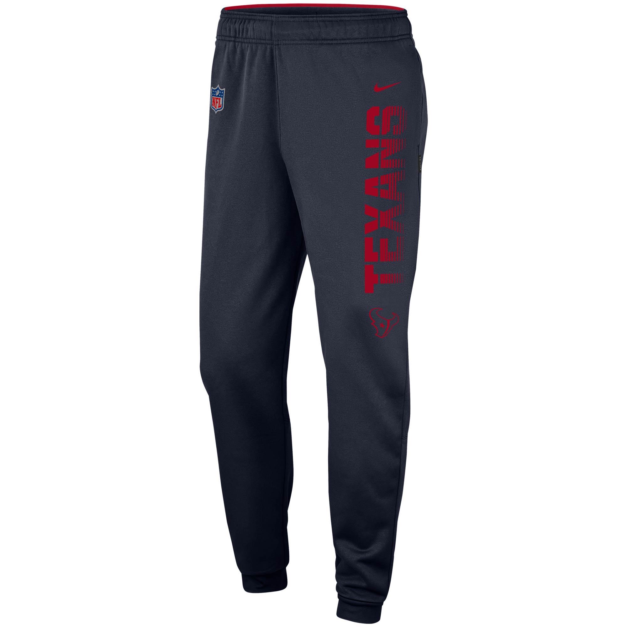 Houston Texans Nike Team Logo Sideline Performance Pants - Navy
