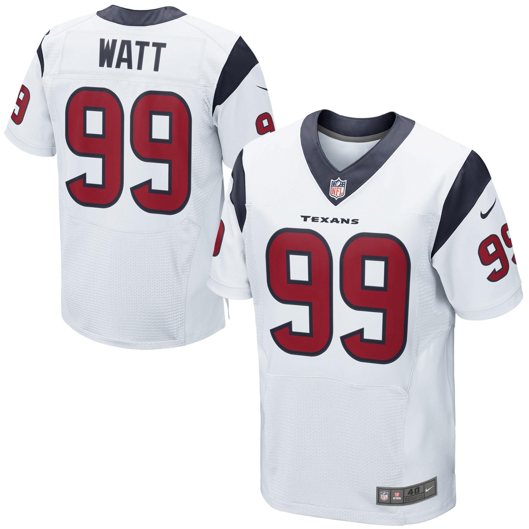 JJ Watt Houston Texans Nike Elite Jersey - White