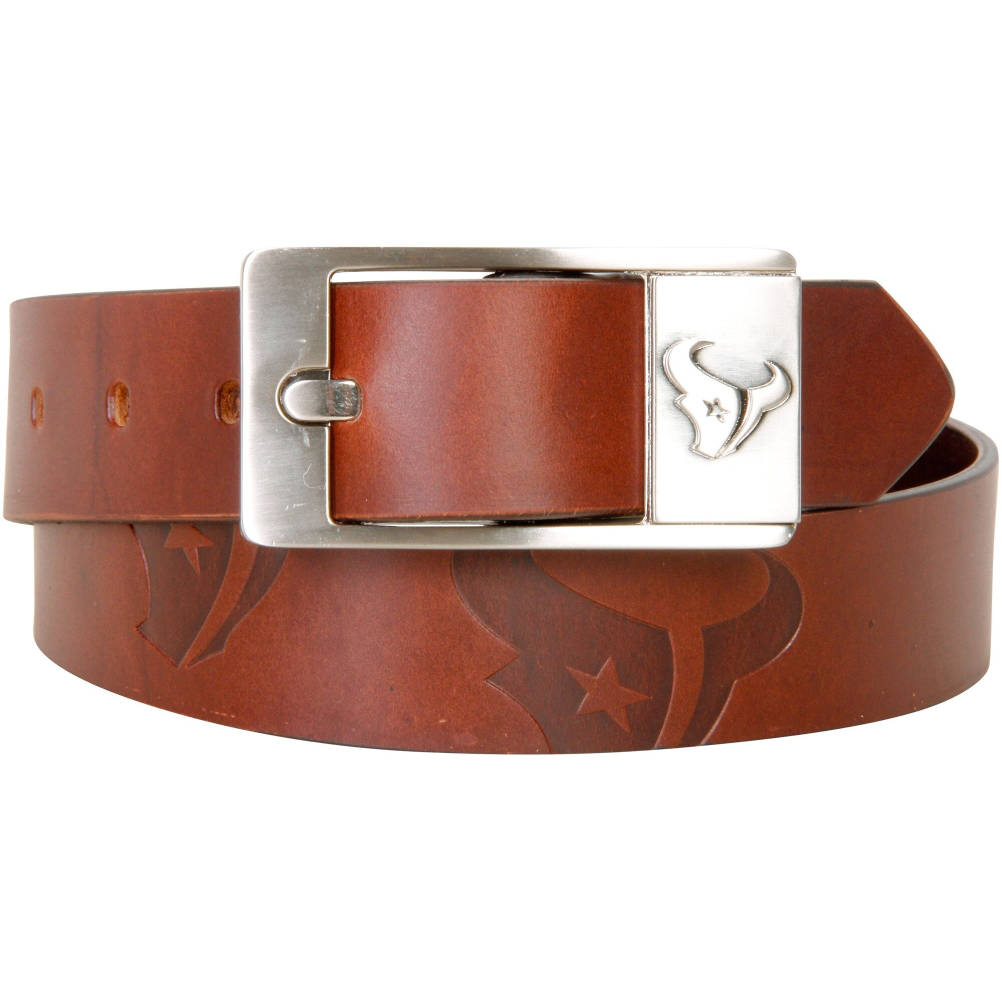 Houston Texans Brandish Leather Belt