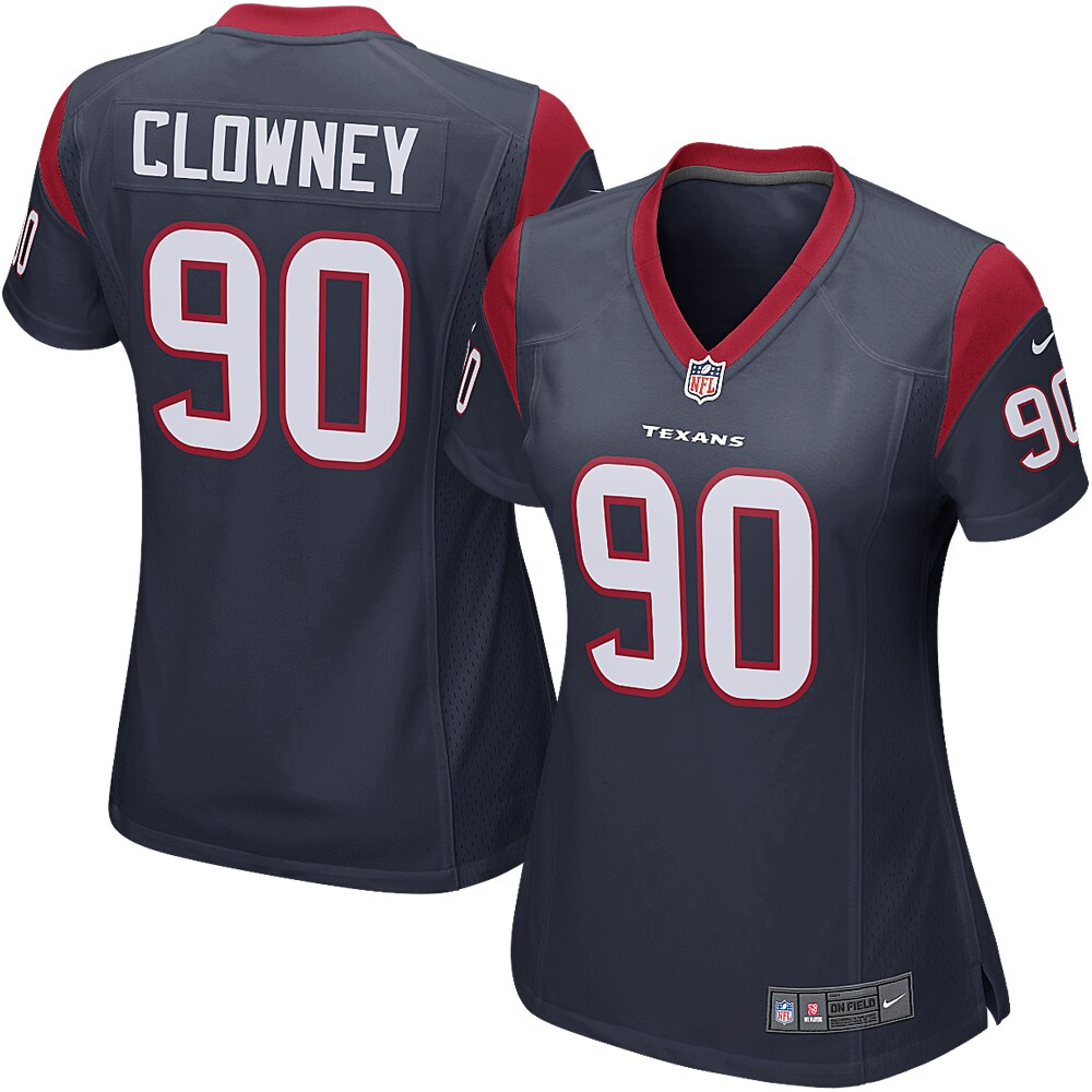 Jadeveon Clowney Houston Texans Nike Women's Game Jersey - Navy Blue