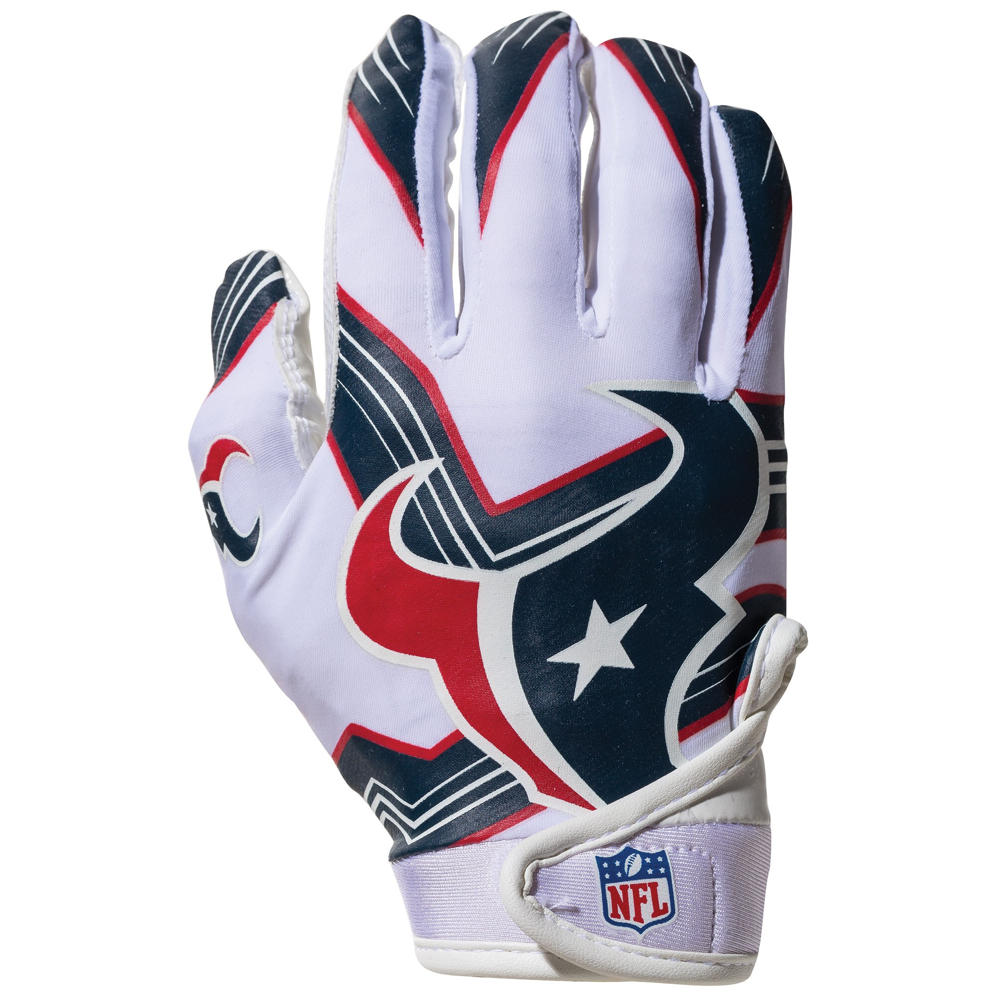 Houston Texans Franklin Sports Youth Receiver Gloves