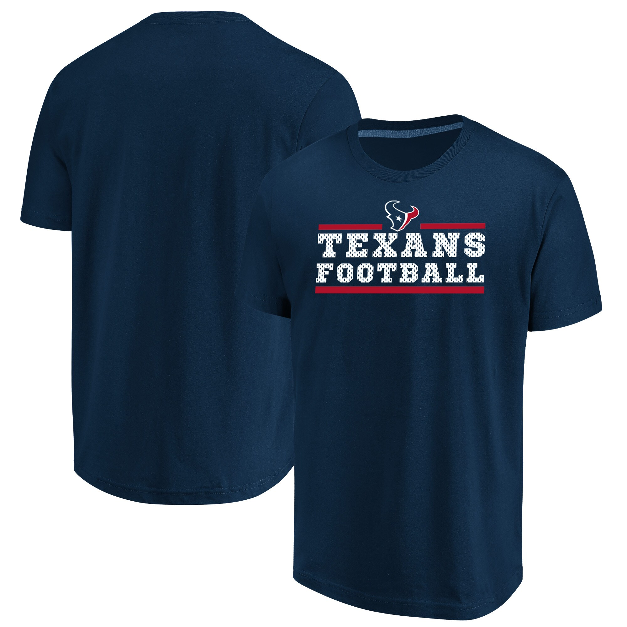 Houston Texans Majestic Big & Tall Safety Blitz T-Shirt - Navy