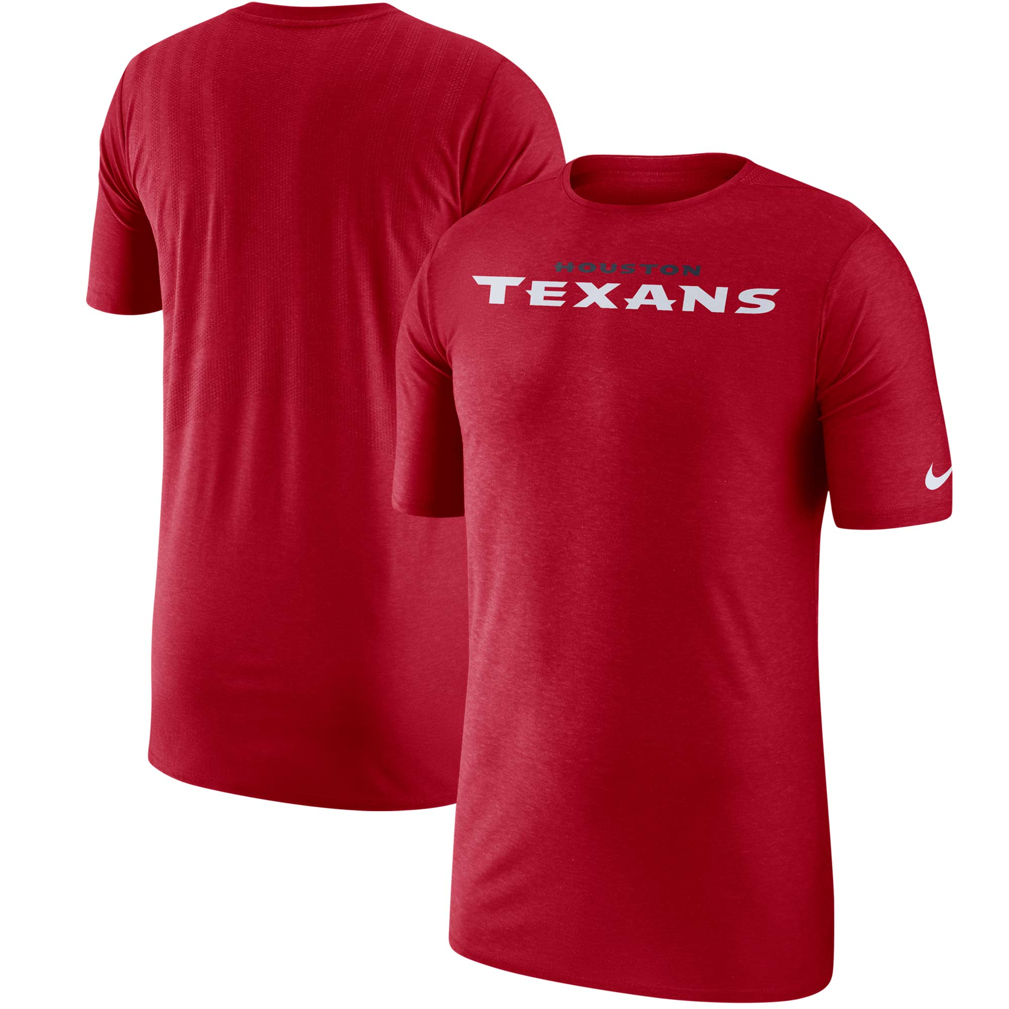 Houston Texans Nike Sideline Player T-Shirt - Red