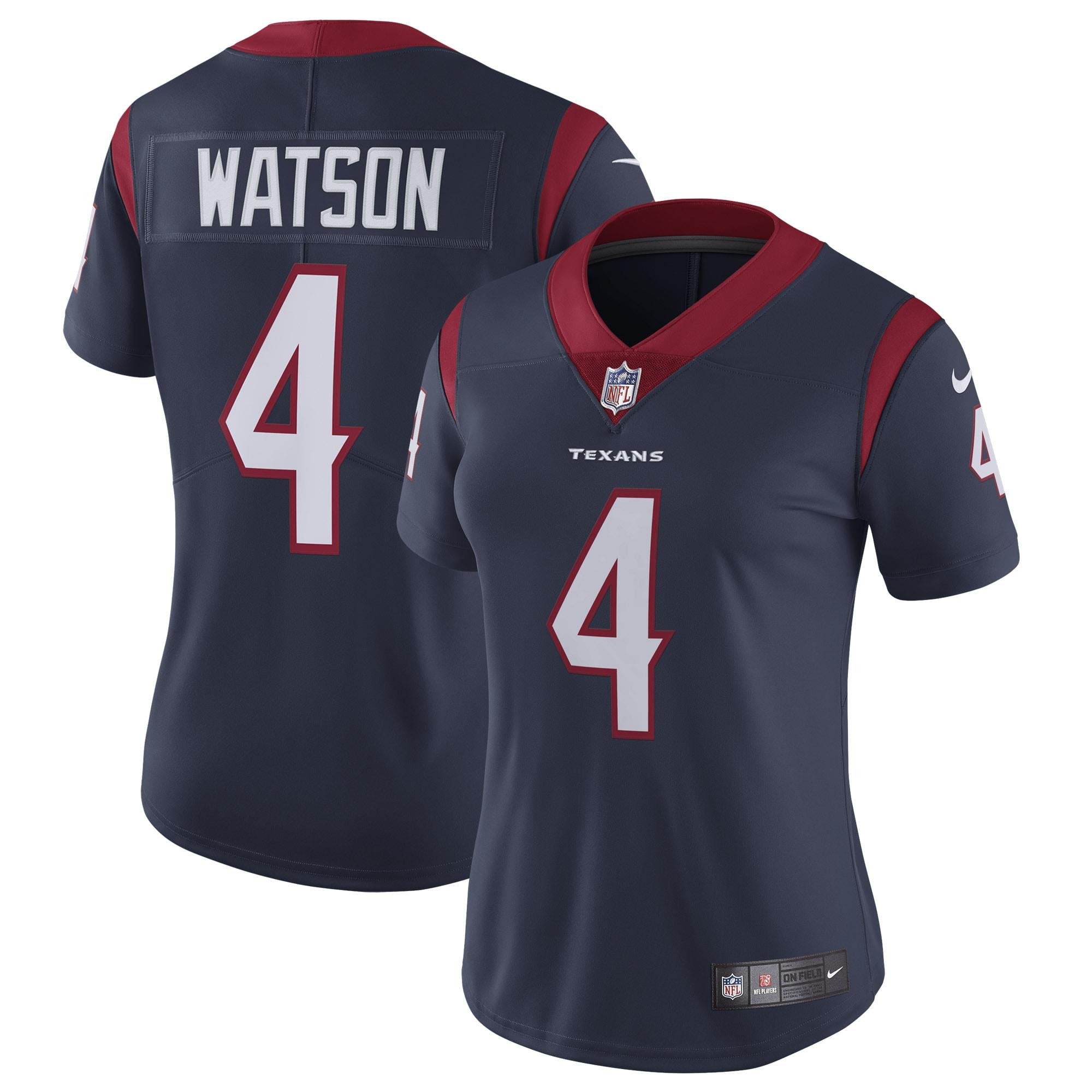 Deshaun Watson Houston Texans Nike Women's Vapor Untouchable Limited Jersey - Navy
