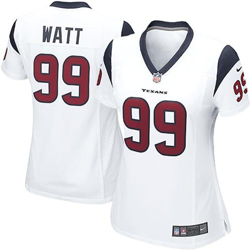 JJ Watt Houston Texans Nike Women's Game Jersey - White