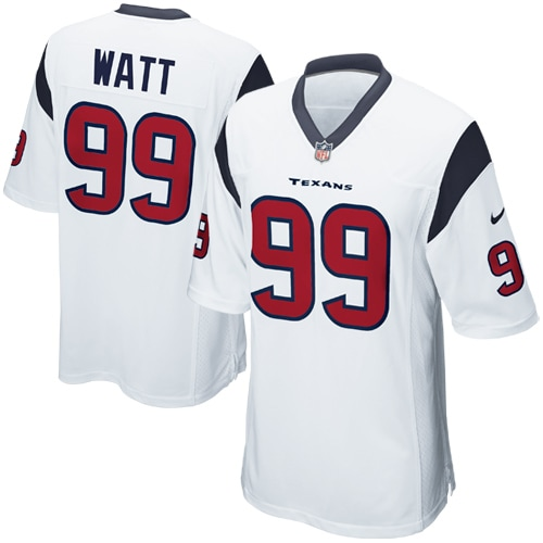 JJ Watt Houston Texans Nike Youth Game Jersey - White