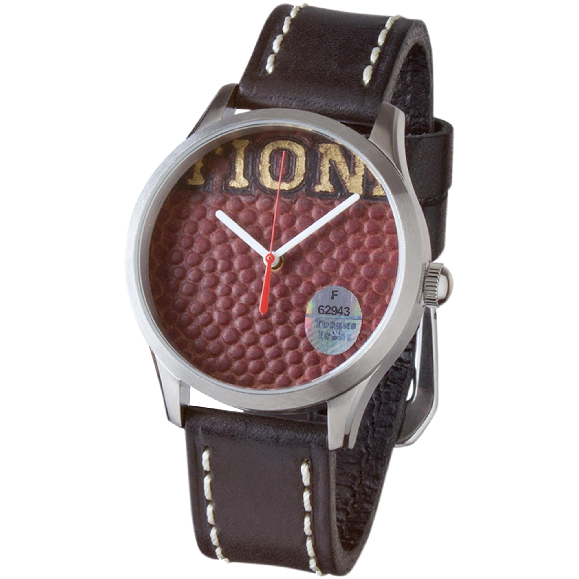 Houston Texans Tokens & Icons Game Used Football Watch