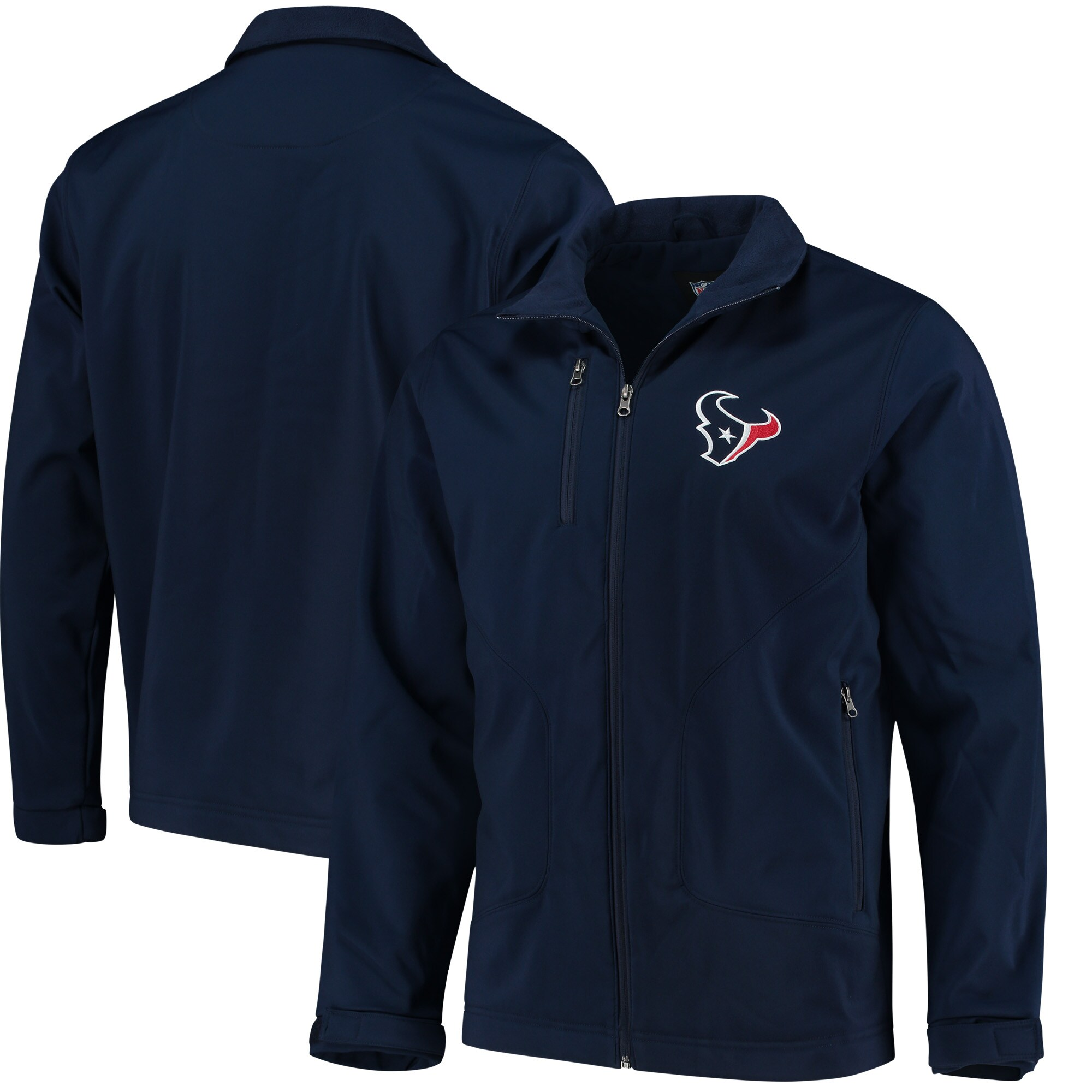 Houston Texans Hands High Strong Side Soft Shell Jacket - Navy