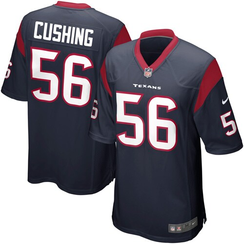 Brian Cushing Houston Texans Nike Youth Team Color Game Jersey - Navy Blue
