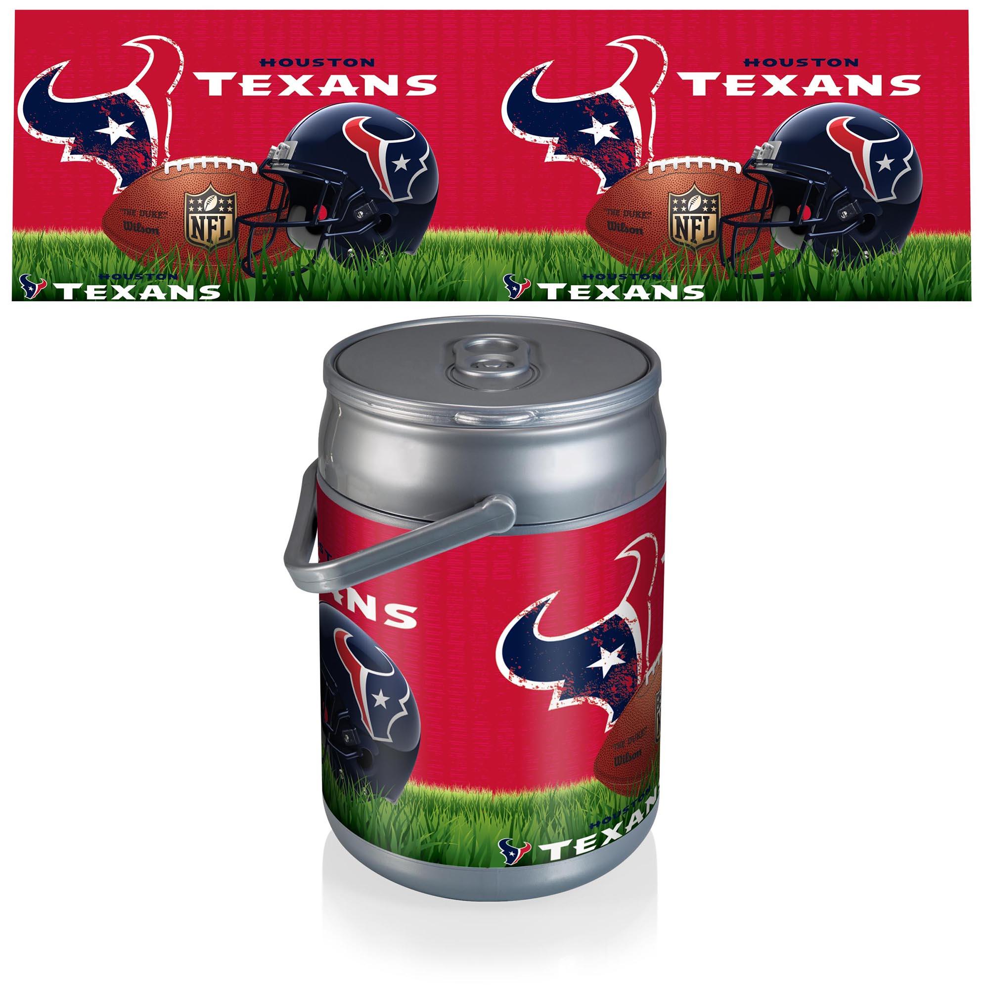 Houston Texans Football Can Cooler