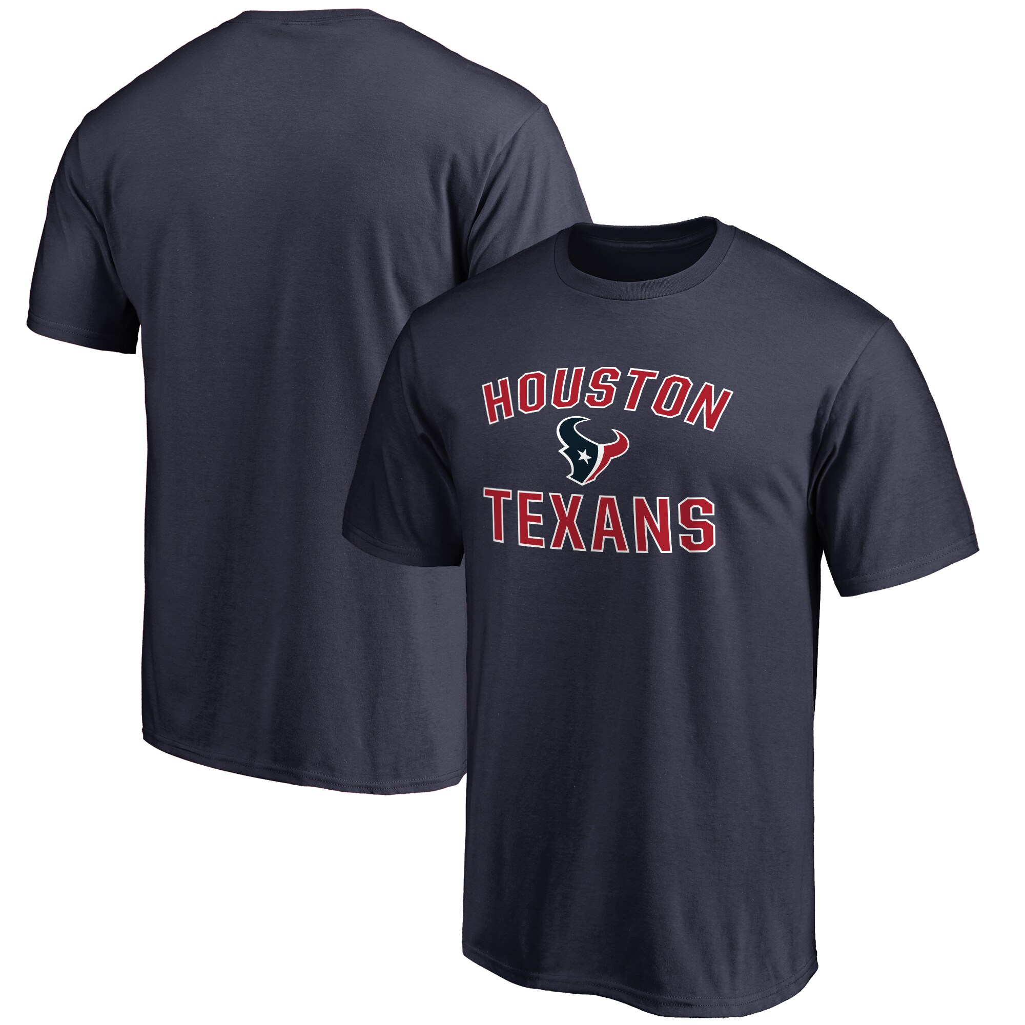 Houston Texans NFL Pro Line Big & Tall Victory Arch T-Shirt - Navy