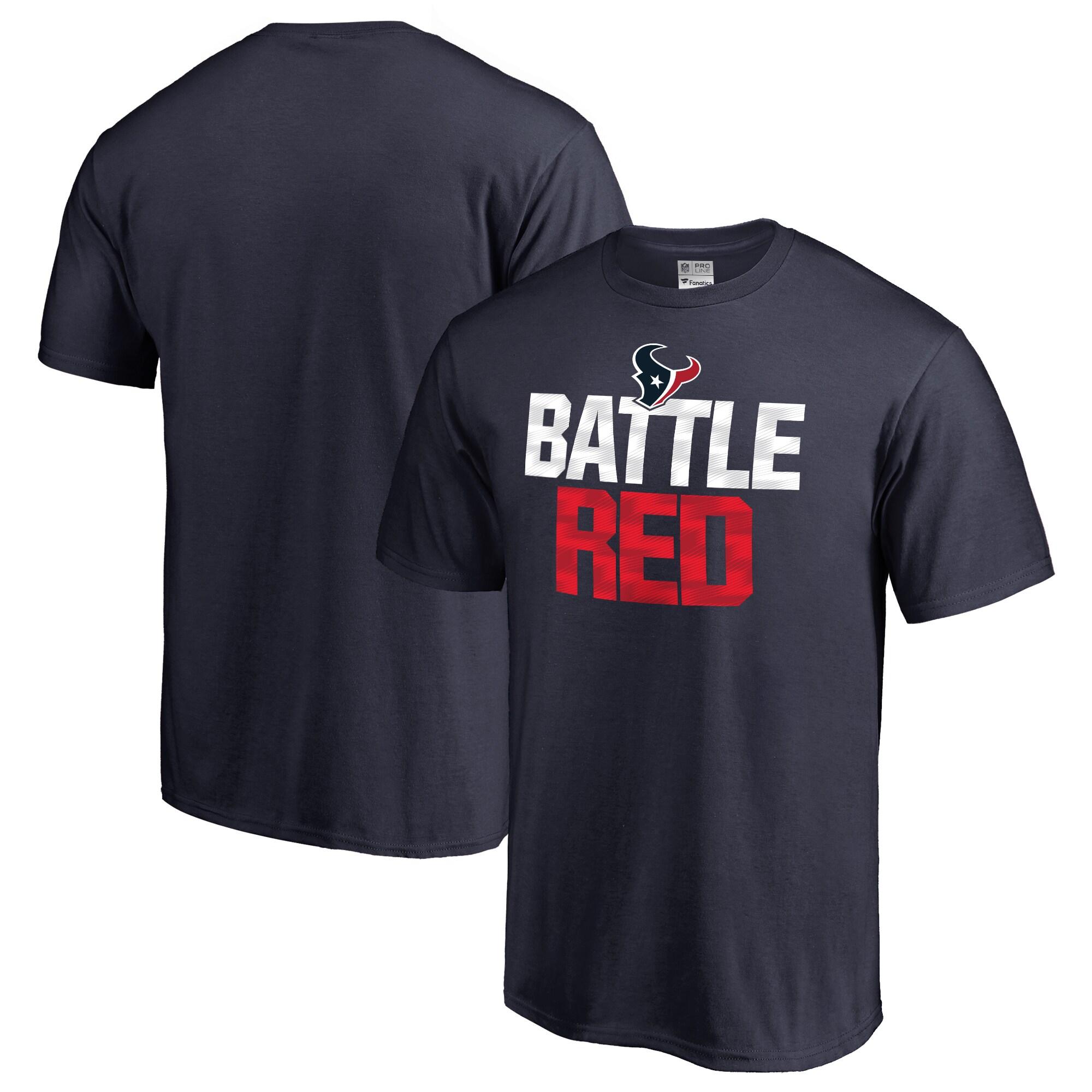 Houston Texans NFL Pro Line Big & Tall Mantra T-Shirt - Navy