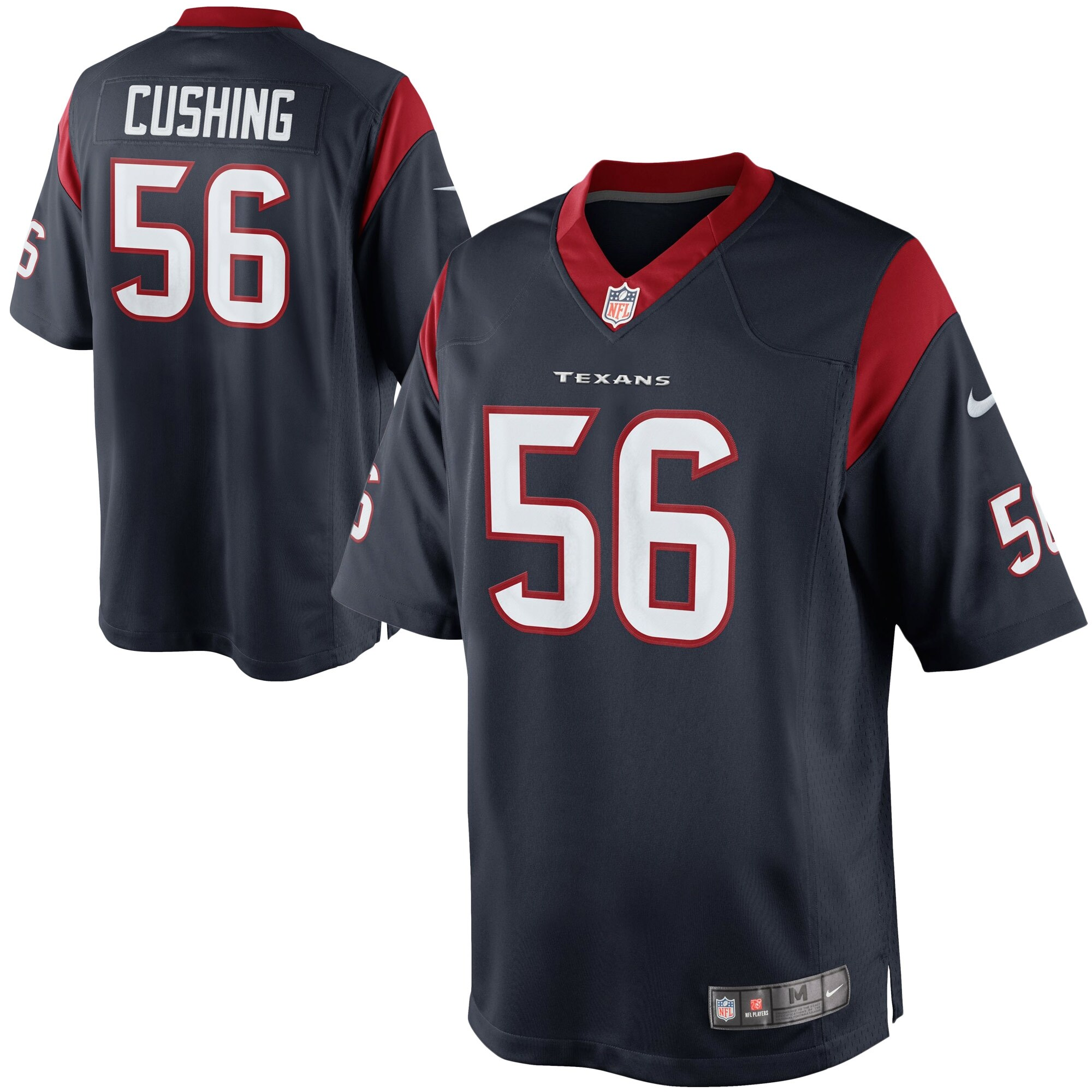 Brian Cushing Houston Texans Nike Team Color Limited Jersey - Navy Blue