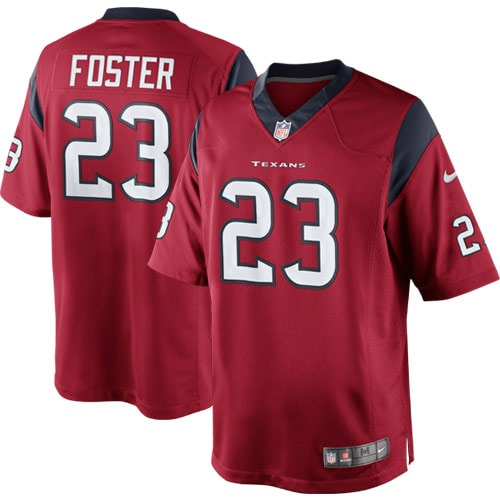 Arian Foster Houston Texans Nike Alternate Limited Jersey - Red