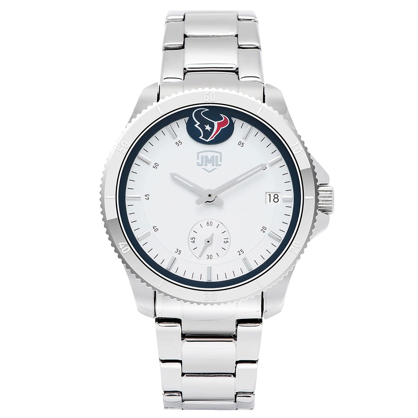 Houston Texans Women's Legacy 3 Hand Watch