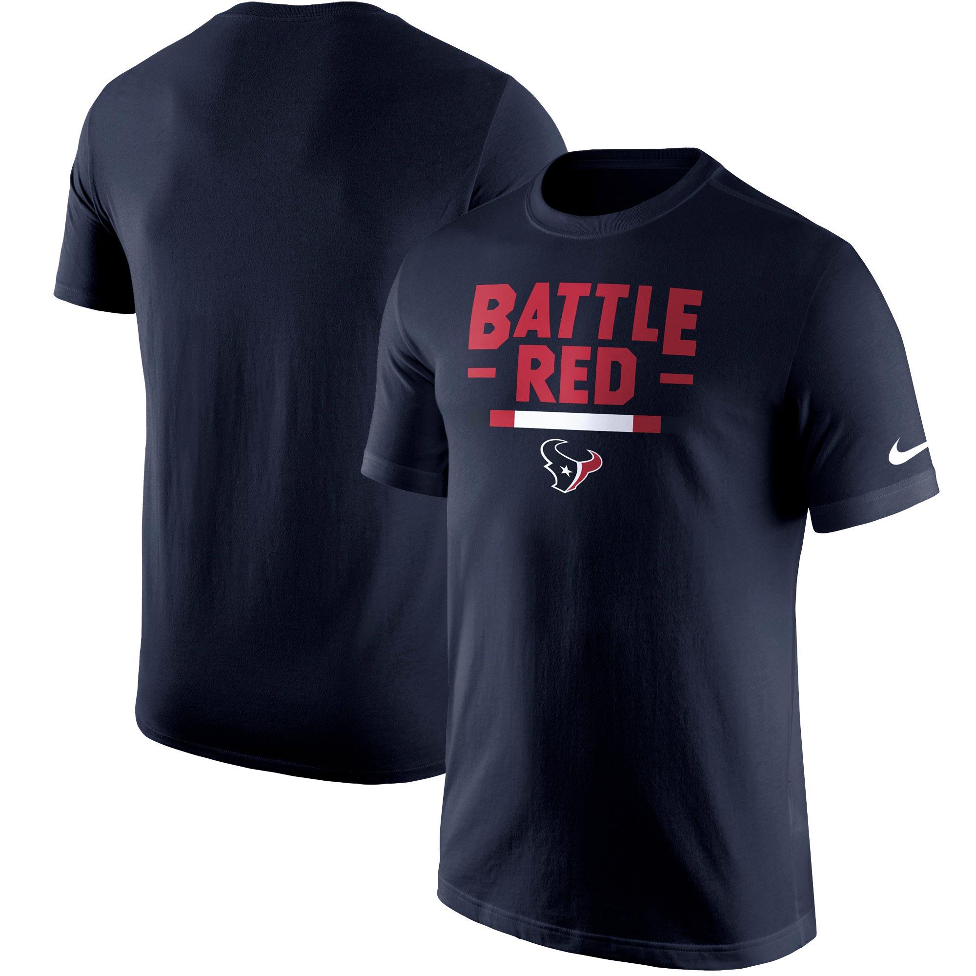 Houston Texans Nike Local Verbiage T-Shirt - Navy