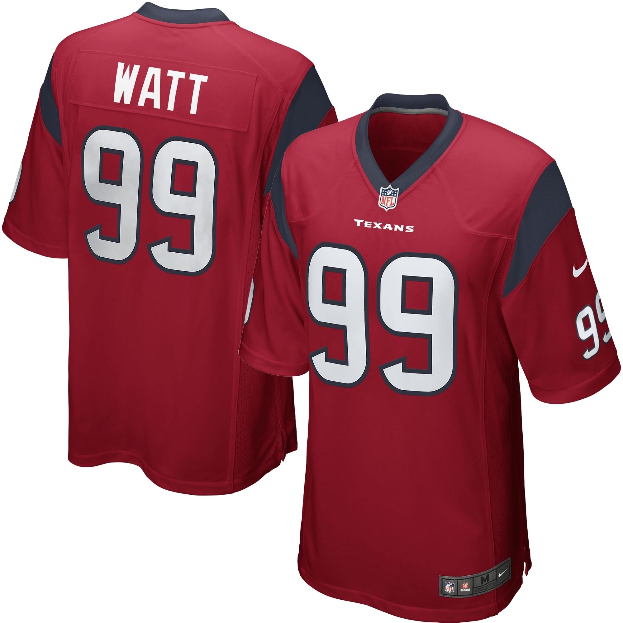 JJ Watt Houston Texans Nike Alternate Game Jersey - Red
