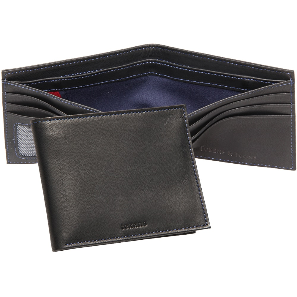 Houston Texans Tokens & Icons Game-Used Uniform Leather Wallet