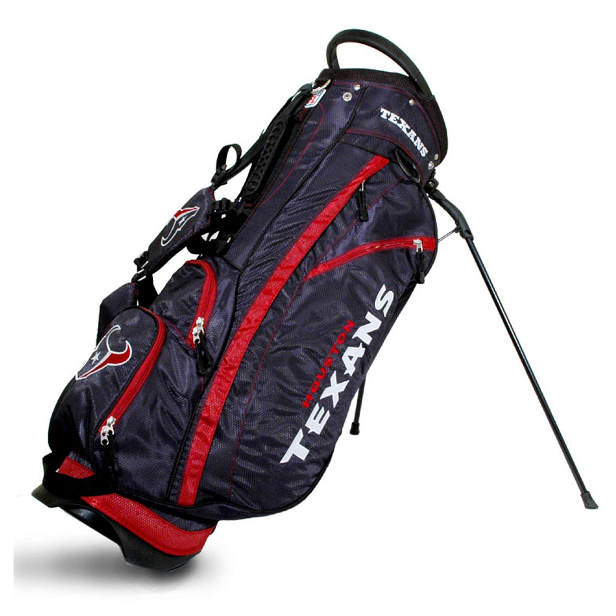 Houston Texans Fairway Stand Golf Bag