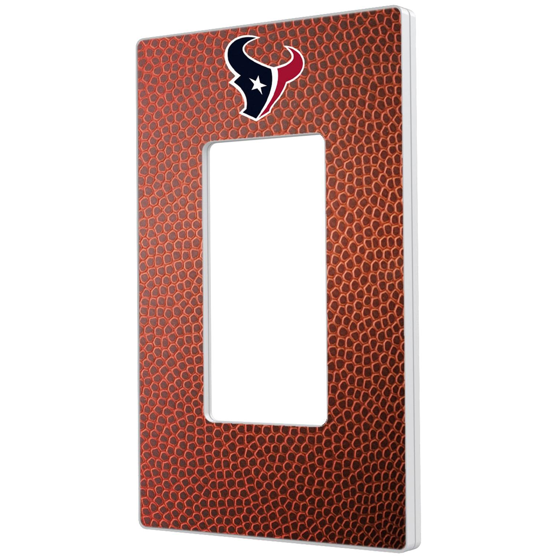 Houston Texans Football Design Single Rocker Light Switch Plate