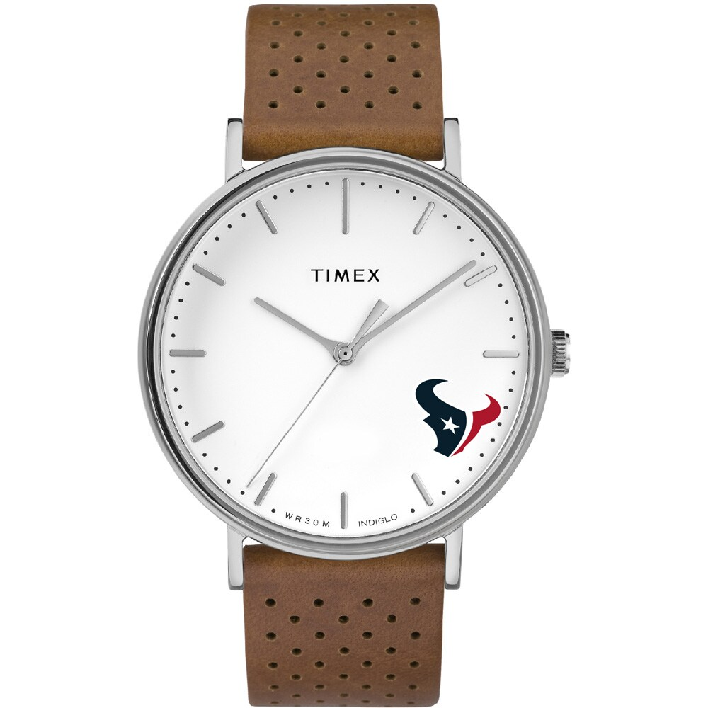 Houston Texans Timex Bright Whites Tribute Collection Watch