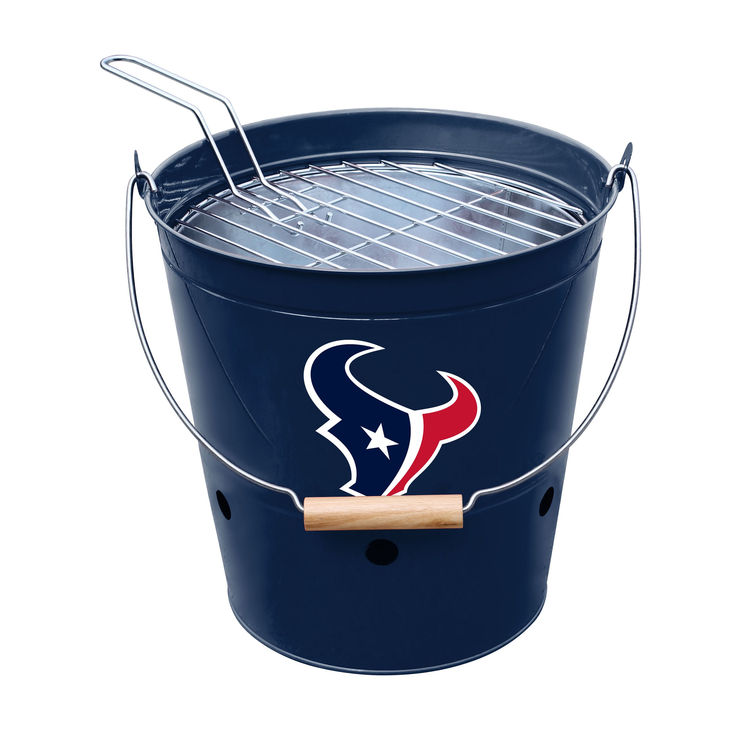 Houston Texans Imperial Bucket Grill - Blue