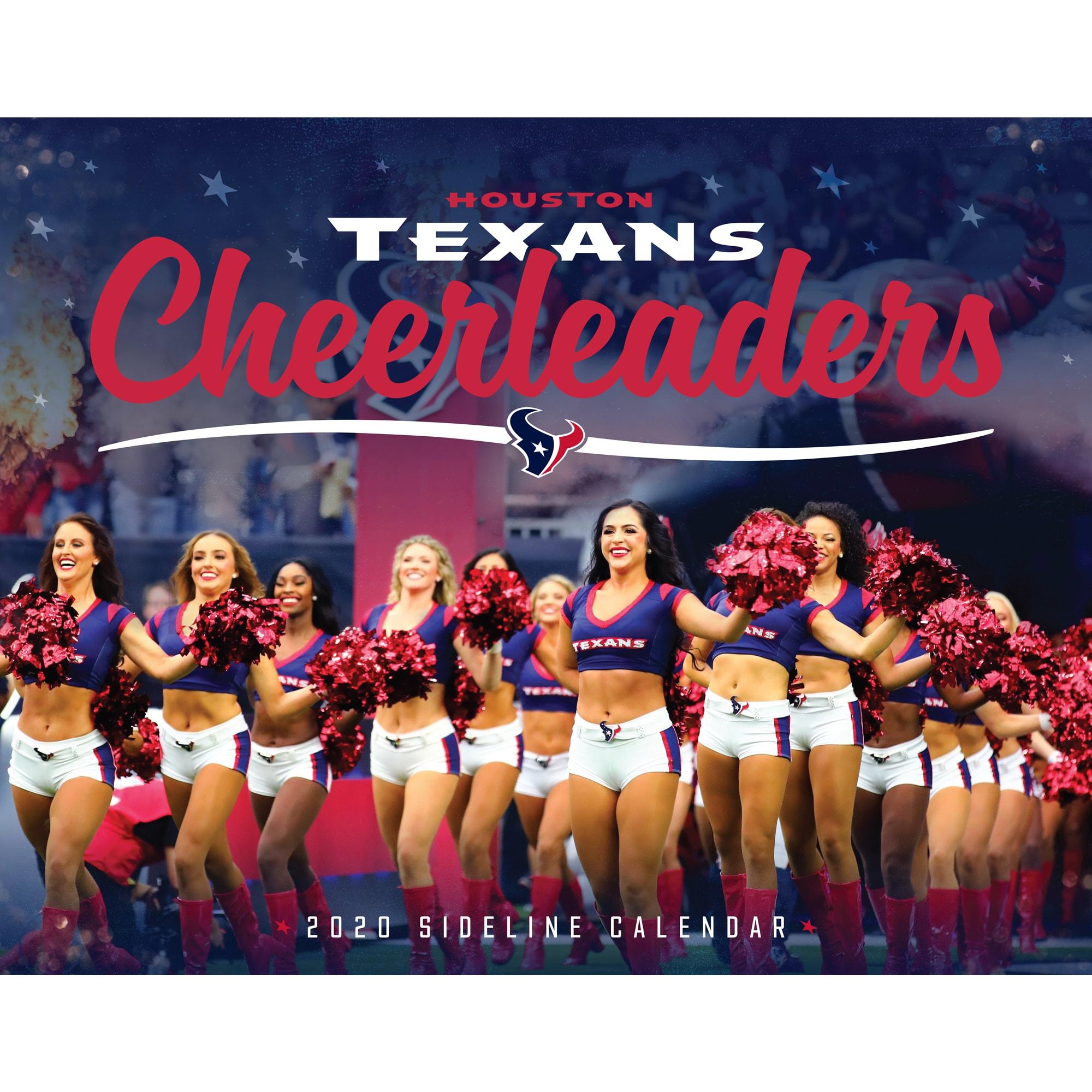 Houston Texans 2020 Cheerleaders Sideline Calendar