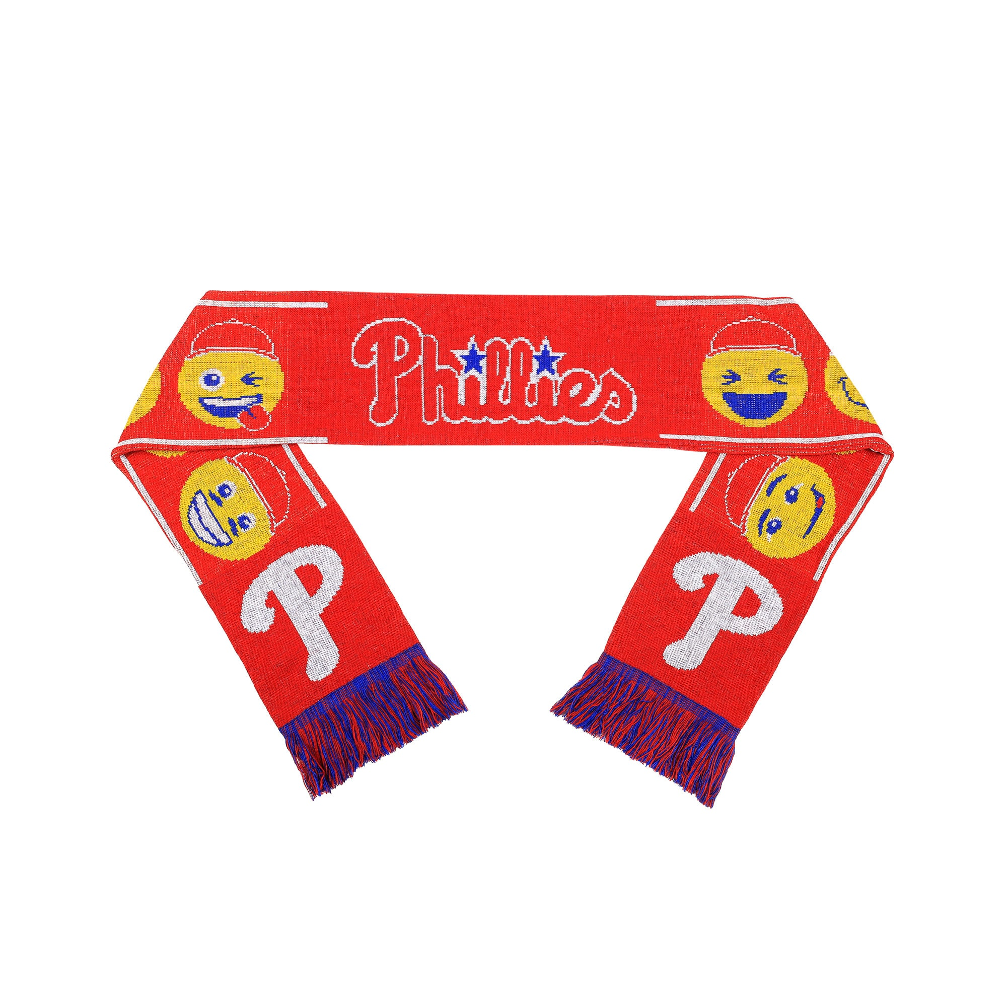 Philadelphia Phillies Teamoji Acrylic Scarf