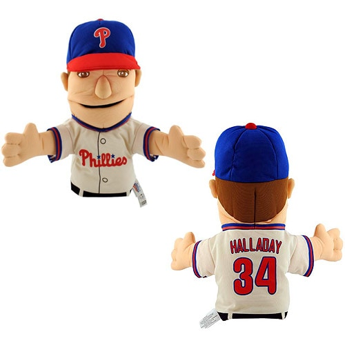 Roy Halladay Philadelphia Phillies Bleacher Creatures Player Hand Puppet