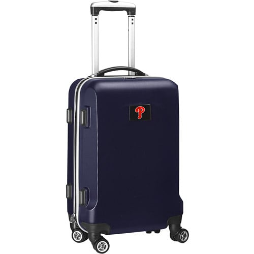"Philadelphia Phillies 21"" 8-Wheel Hardcase Spinner Carry-On - Navy"