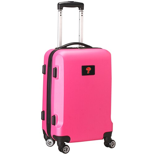 "Philadelphia Phillies 21"" 8-Wheel Hardcase Spinner Carry-On - Pink"