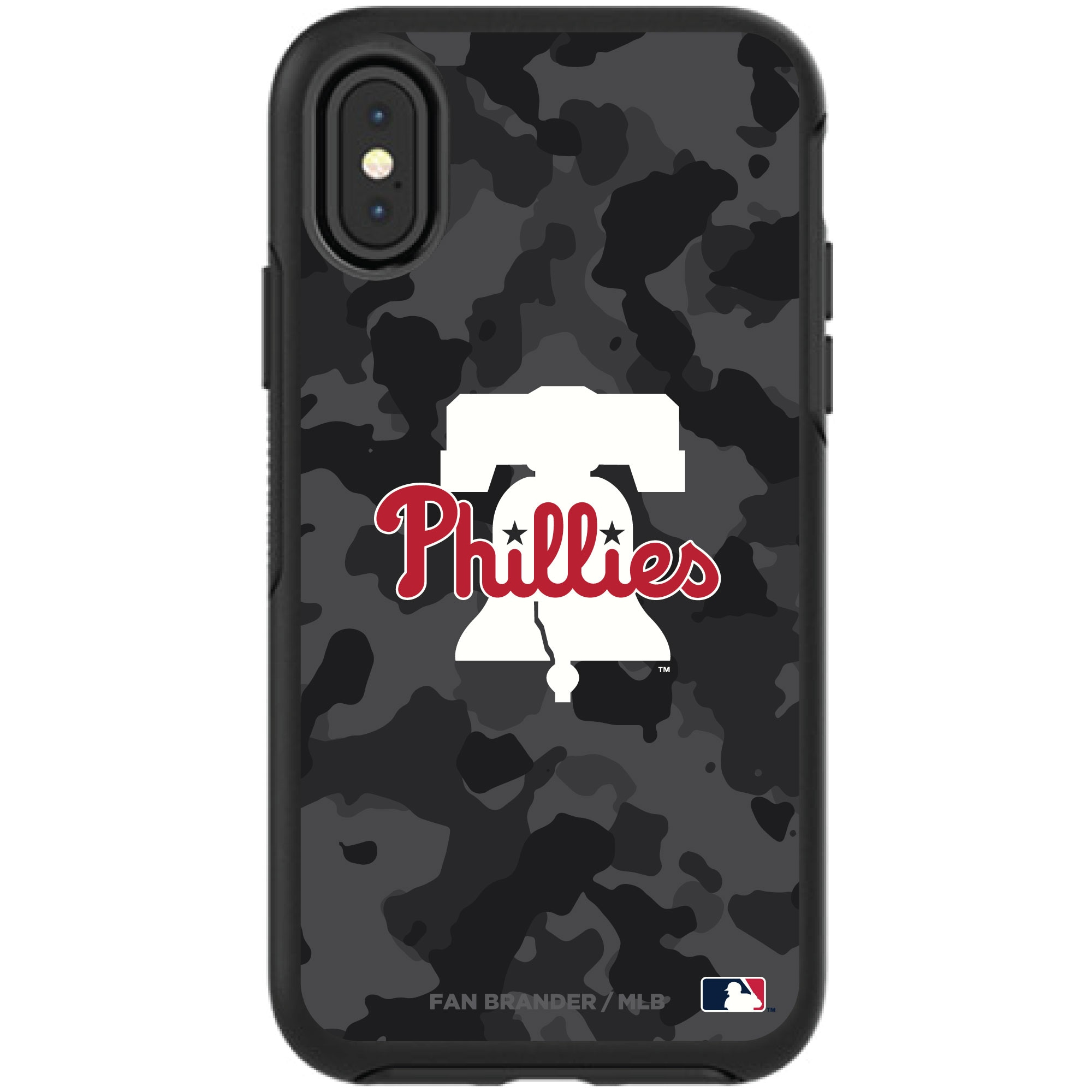 Philadelphia Phillies OtterBox Urban Camo Design Symmetry Series iPhone Case - Black