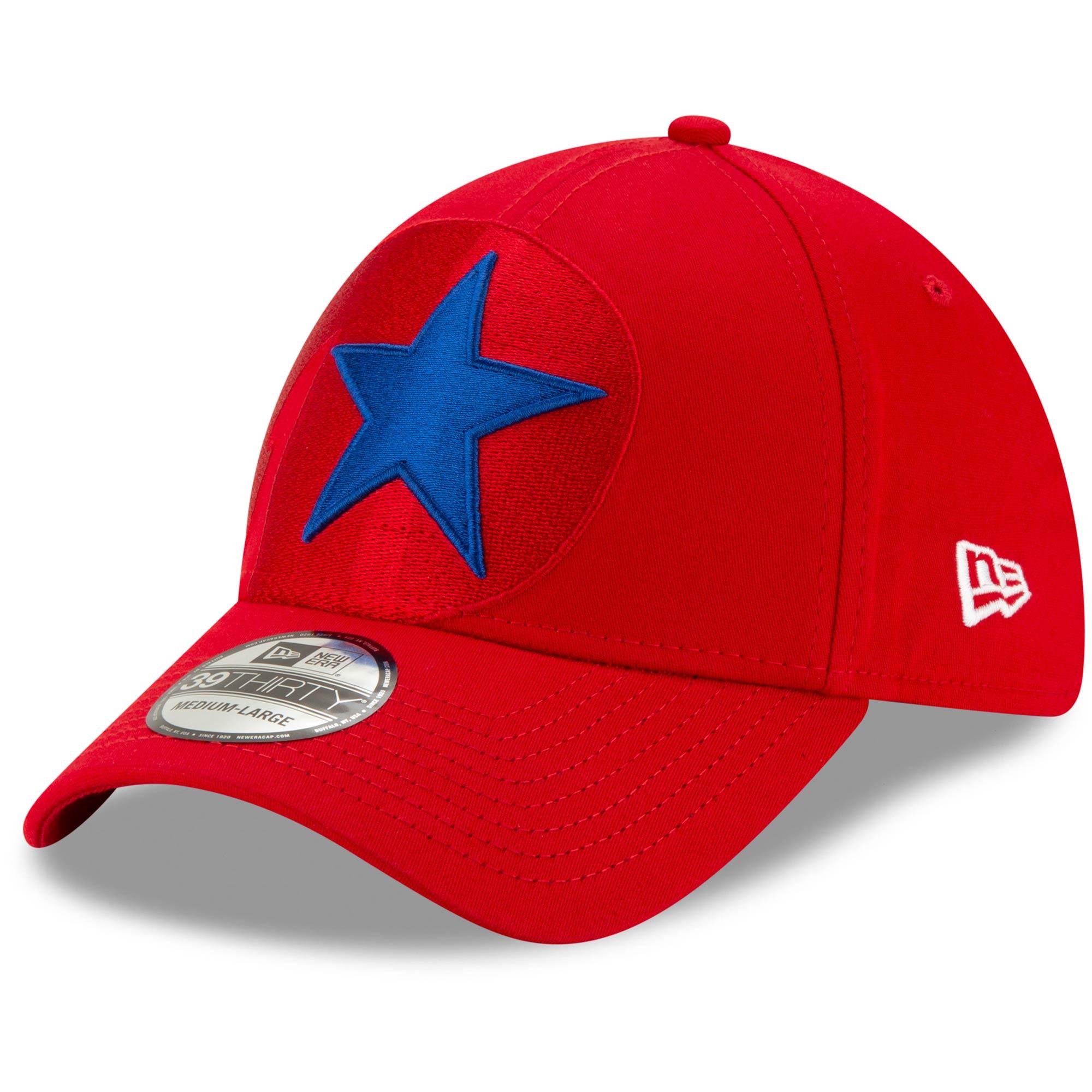 Philadelphia Phillies New Era Logo Elements 39THIRTY Flex Hat - Red