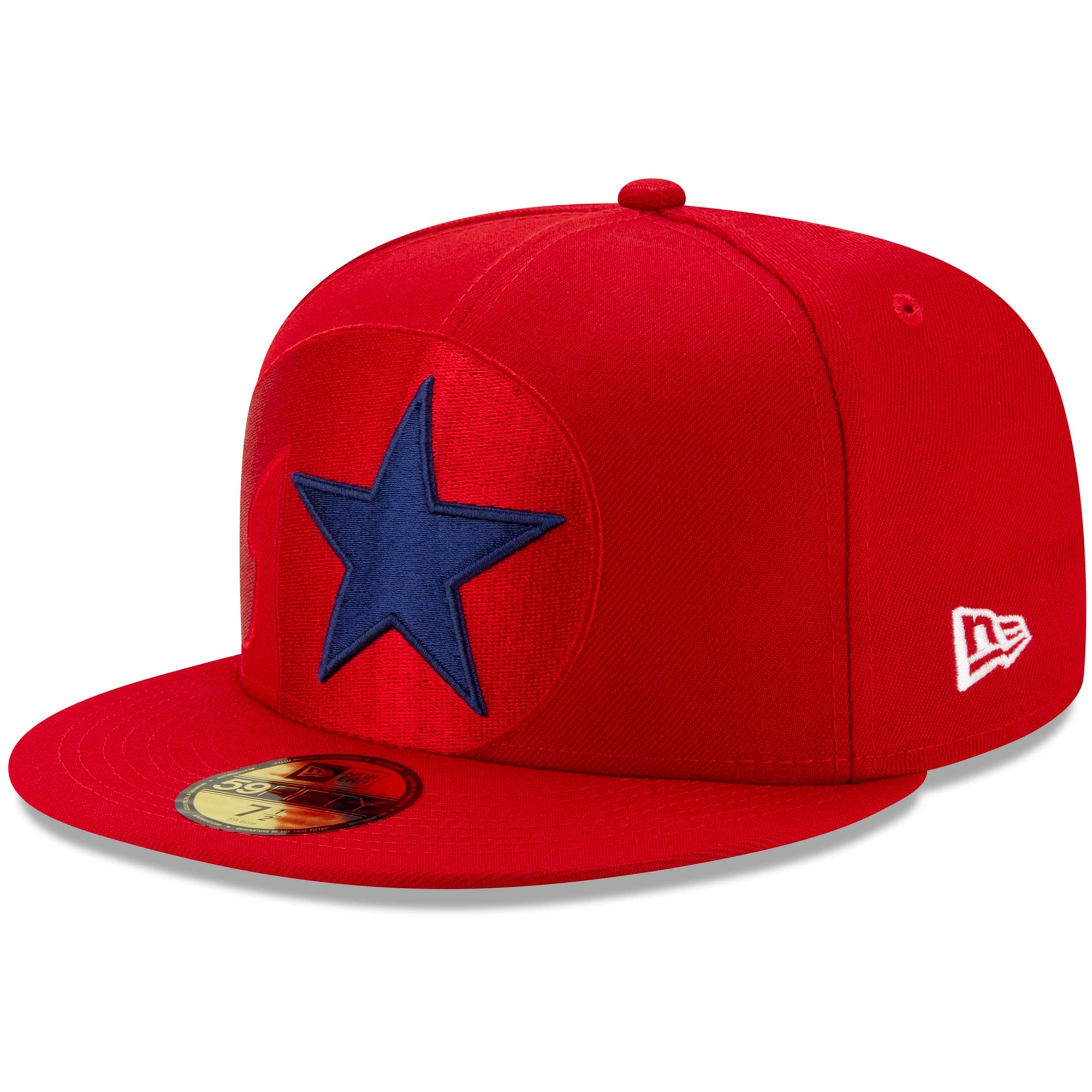 Philadelphia Phillies New Era Logo Elements 59FIFTY Fitted Hat - Red
