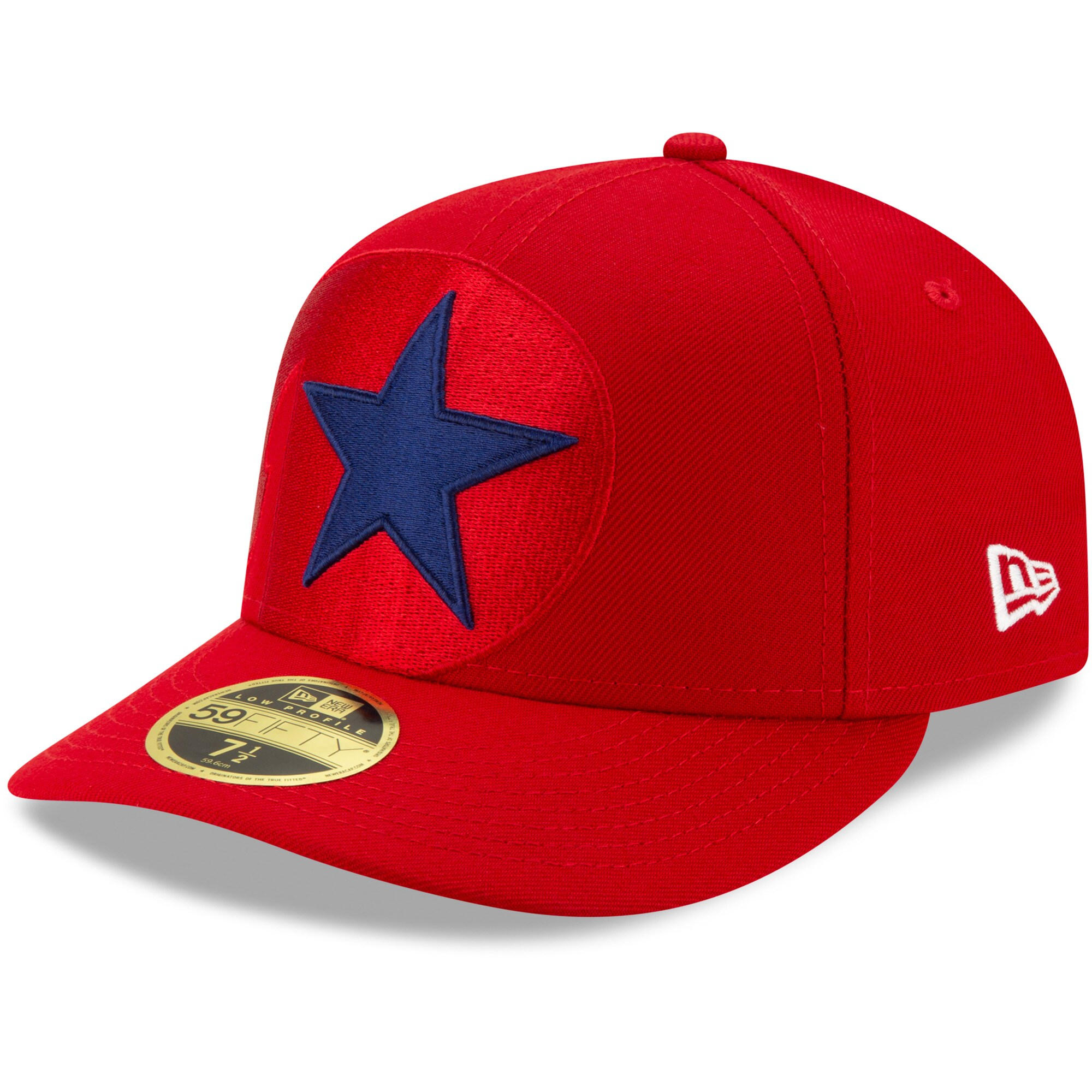 Philadelphia Phillies New Era Logo Elements Low Profile 59FIFTY Fitted Hat - Red