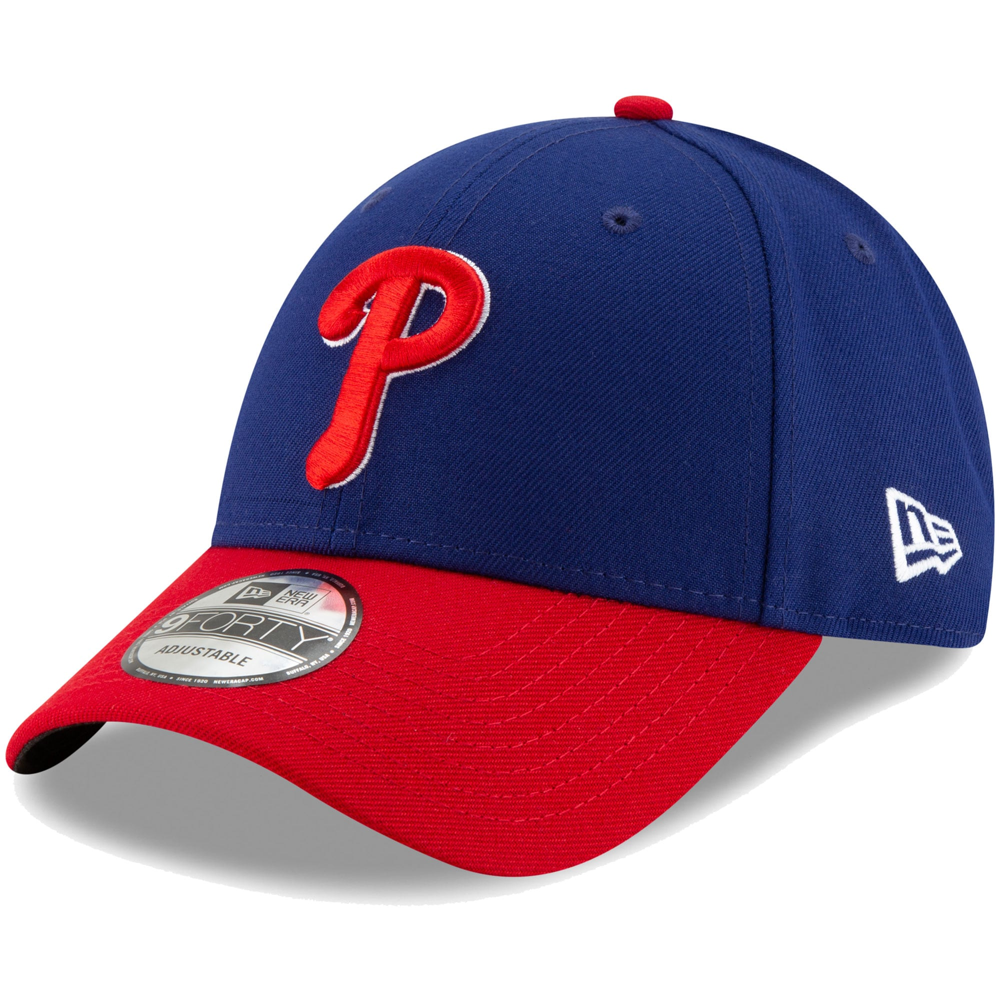 Philadelphia Phillies New Era Alternate The League 9FORTY Adjustable Hat - Royal/Red