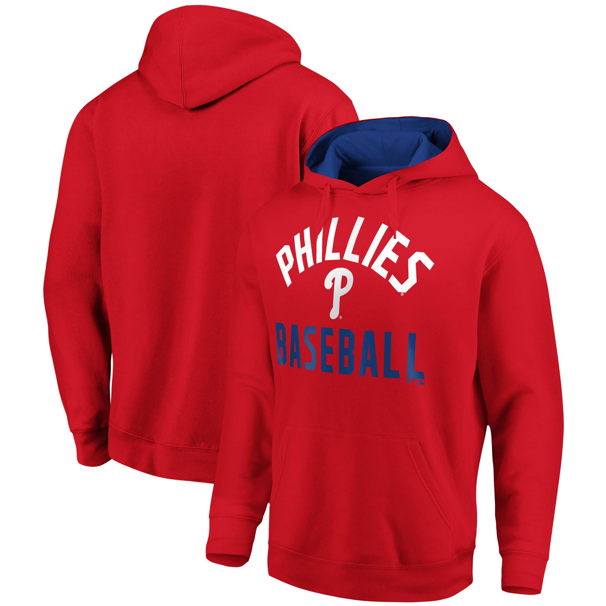 Philadelphia Phillies Fanatics Branded Big & Tall Team Pride Pullover Hoodie - Red