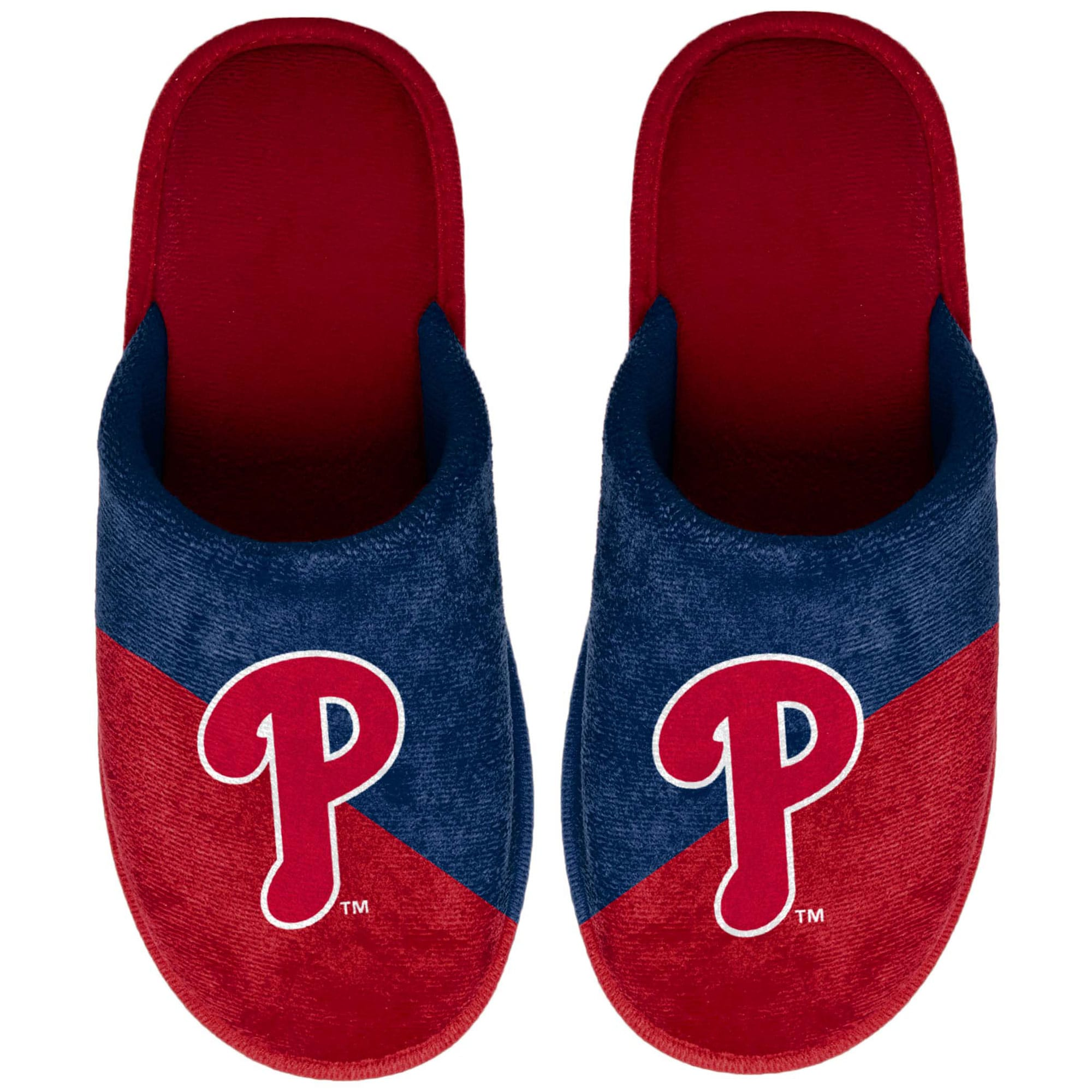 Philadelphia Phillies Big Logo Scuff Slippers