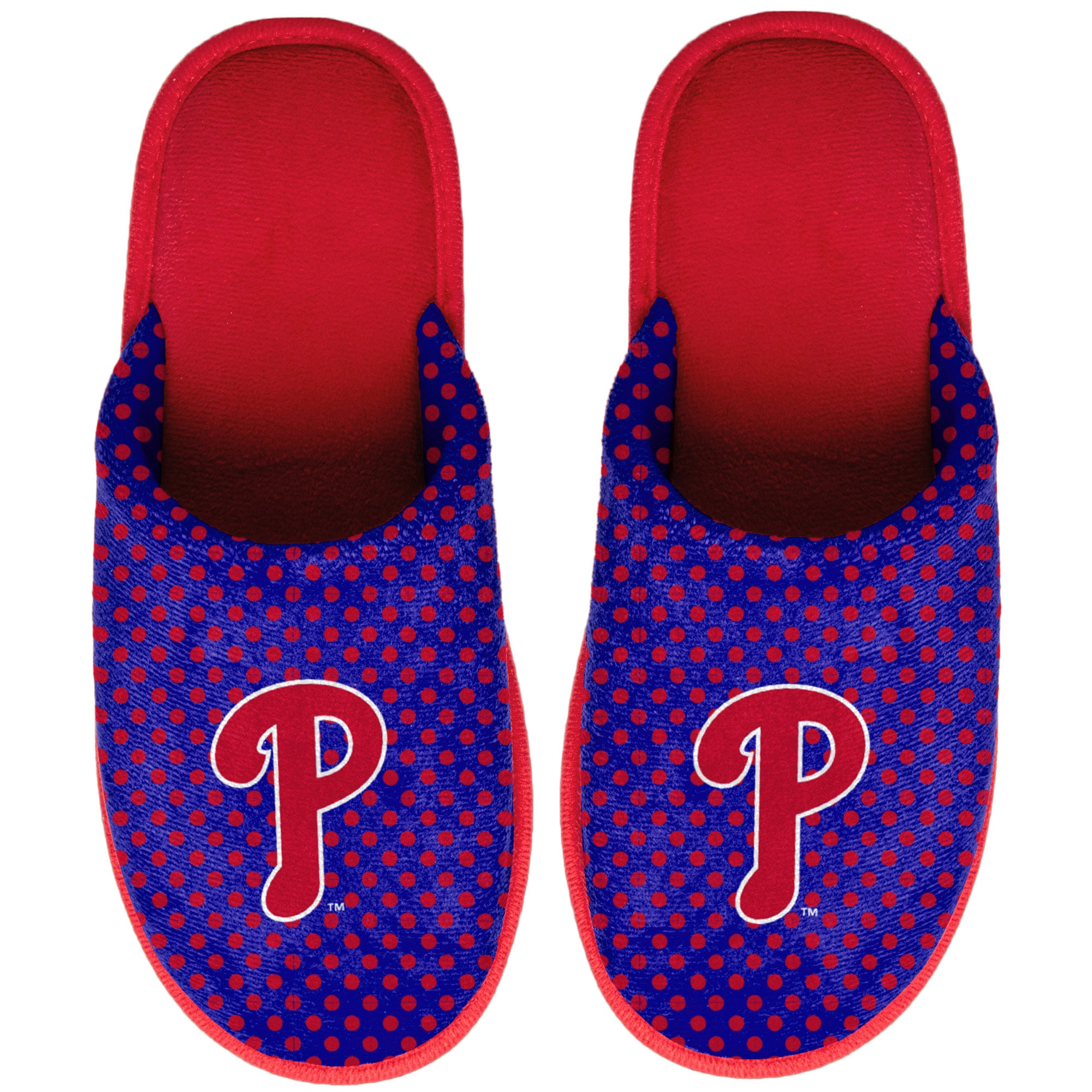 Philadelphia Phillies Women's Big Logo Scuff Slippers