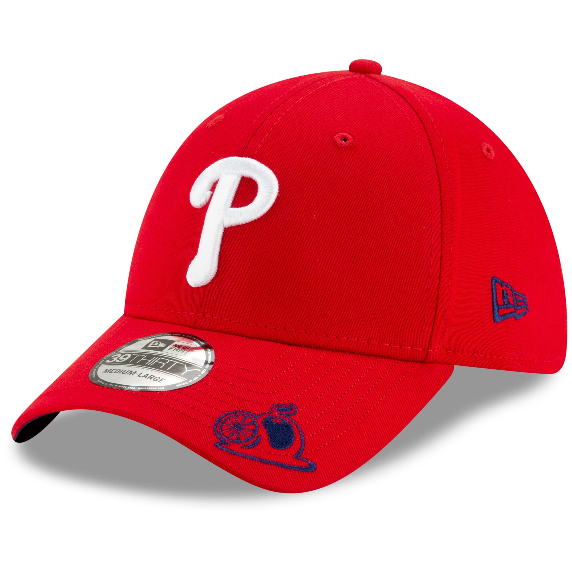 Philadelphia Phillies New Era Spring Training State Vize 39THIRTY Flex Hat - Red