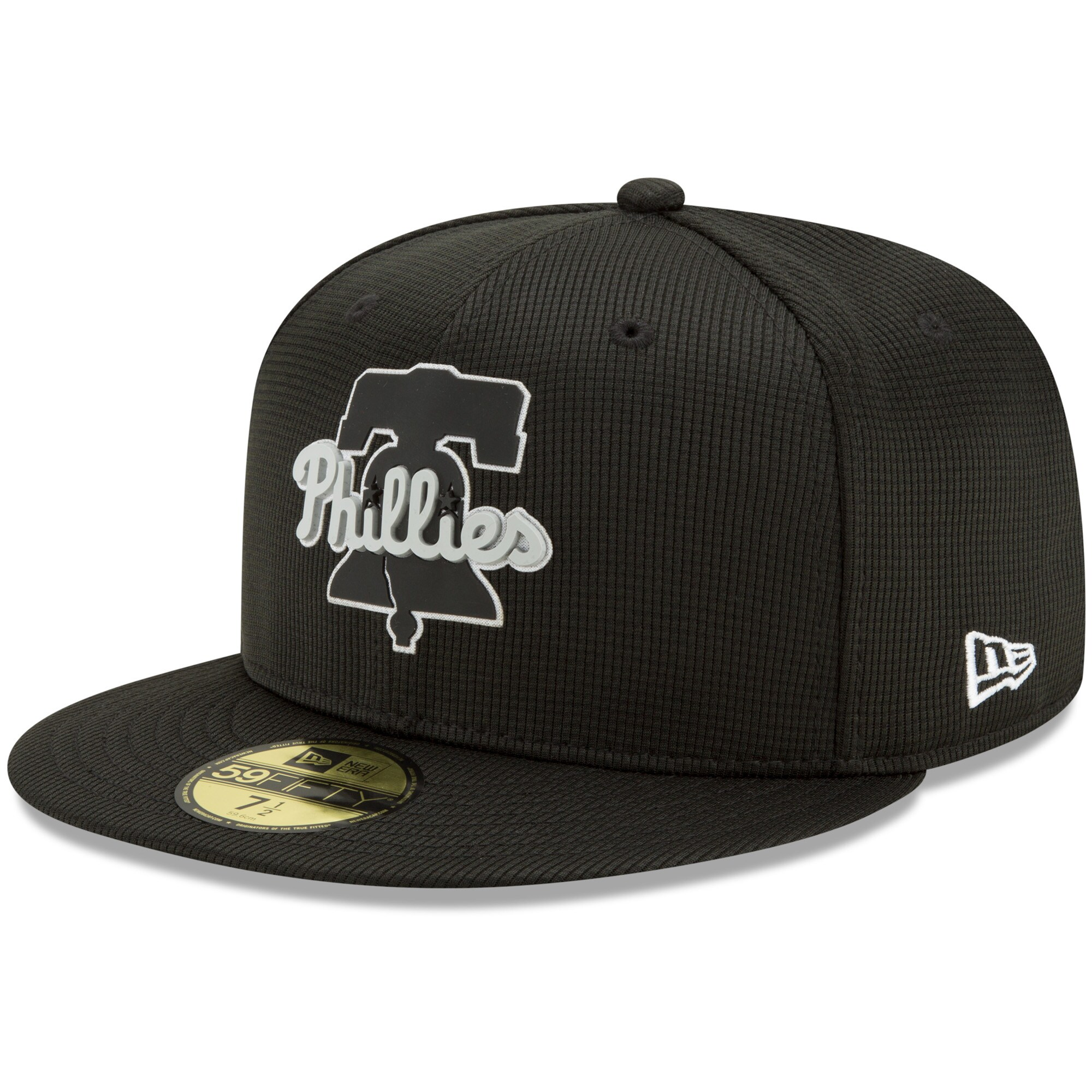 Philadelphia Phillies New Era Team Clubhouse 59FIFTY Fitted Hat - Black