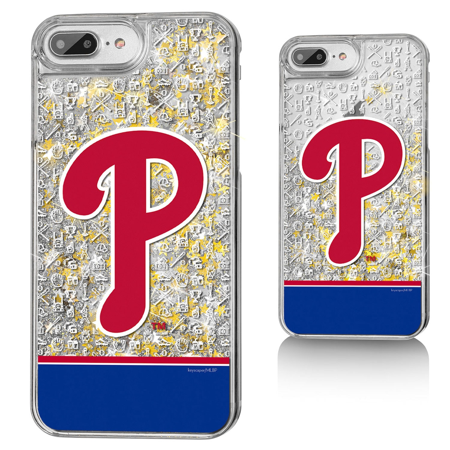 Philadelphia Phillies iPhone Glitter Memories Print Design Case